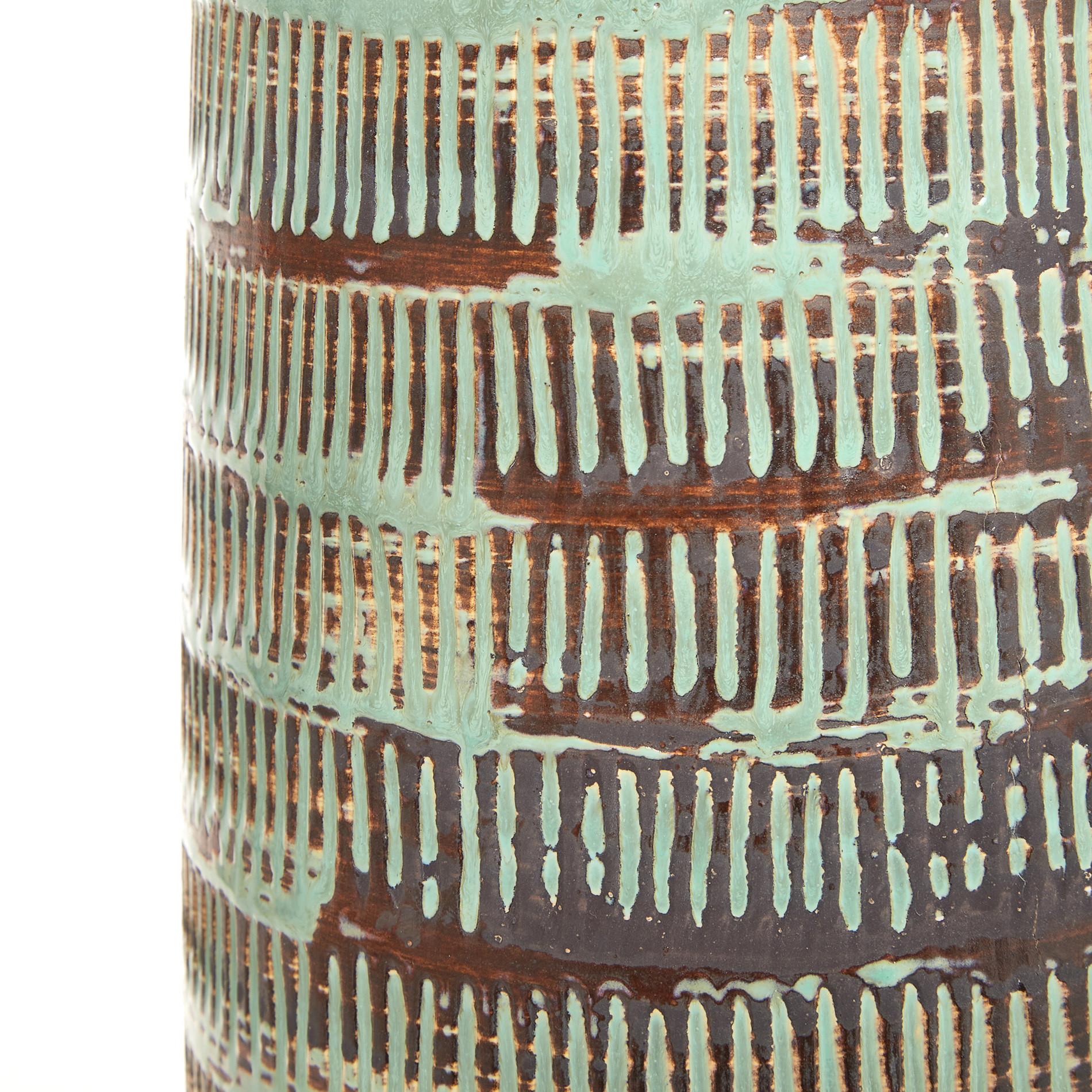 Lampada da tavolo ceramica Green, Verde, large image number 2