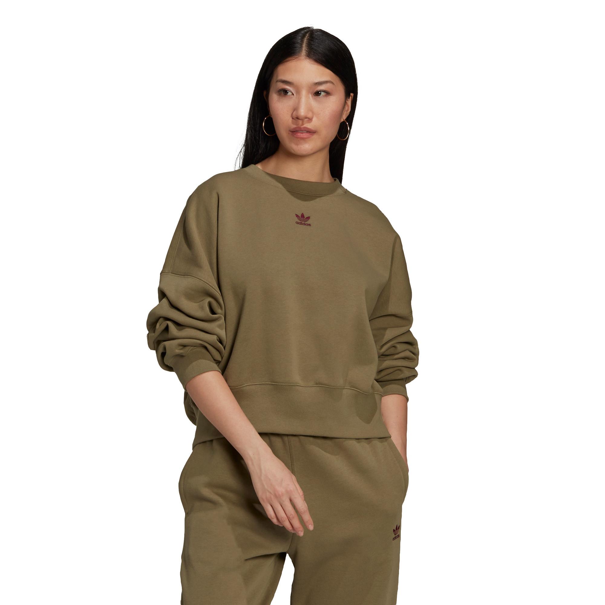 Felpa adicolor Essentials Fleece, Verde, large image number 1