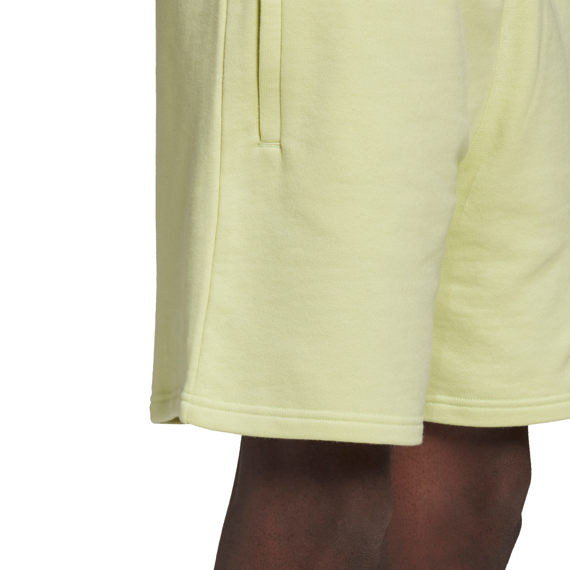 Short loungewear trefoil essentials, Giallo, large image number 5