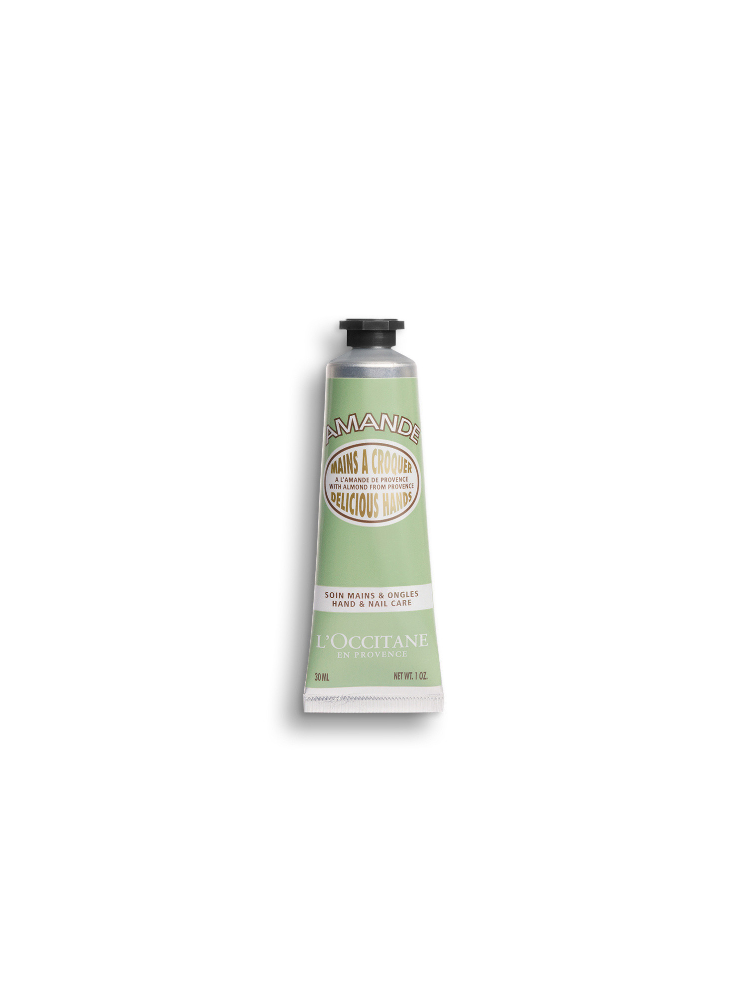 Crema Mani Mandorla 30 ml, Trasparente, large image number 0