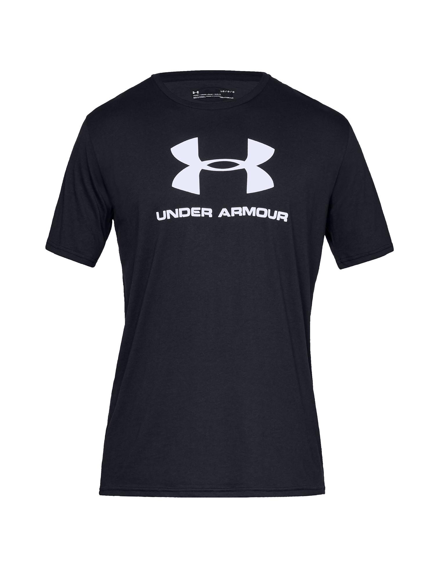 T-shirt uomo sportiva , Nero, large image number 0