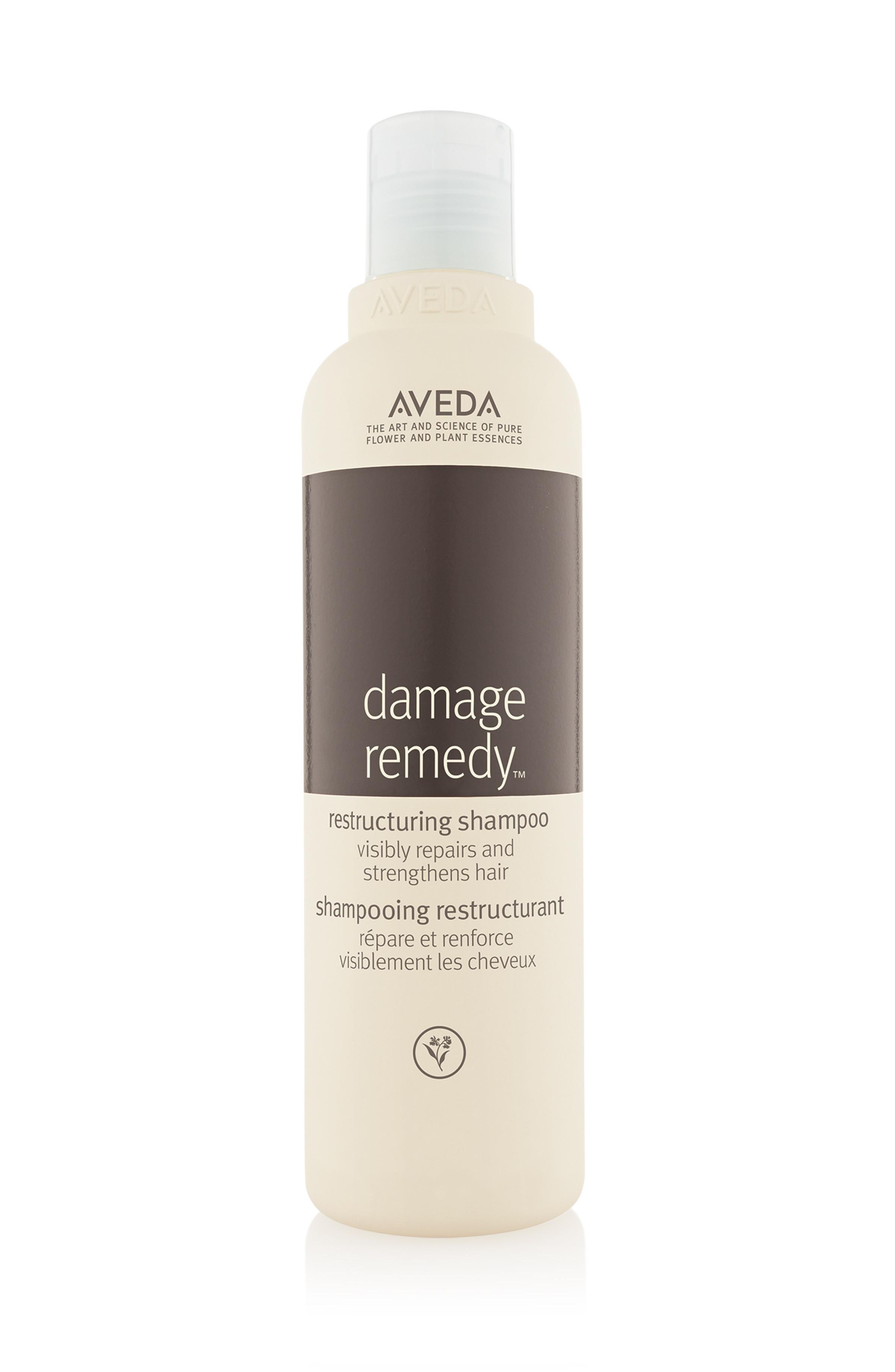 Aveda damage remedy shampoo ristrutturante 250 ml, Bianco/Marrone, large image number 0