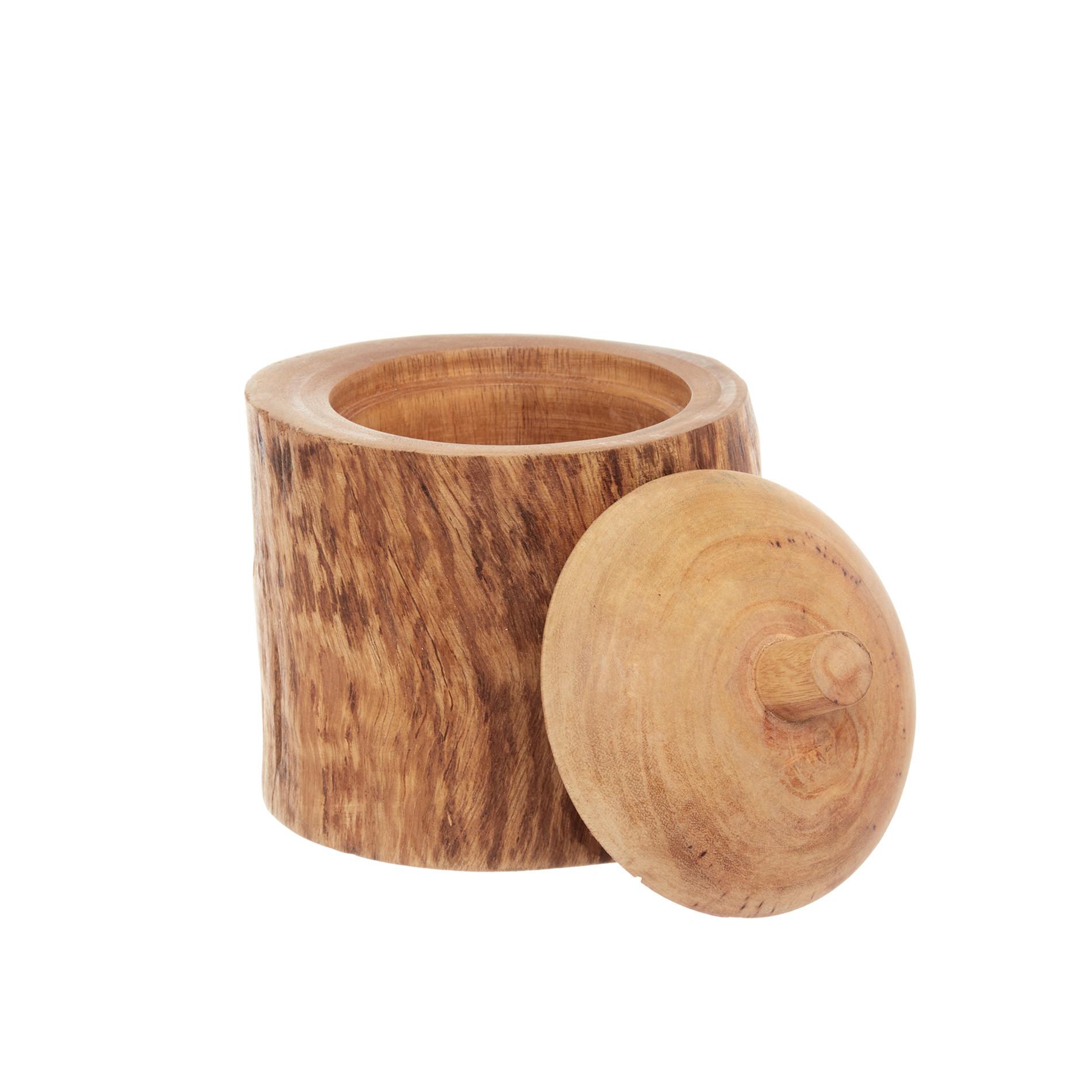 Box legno di mango decorato a mano, Marrone, large image number 0
