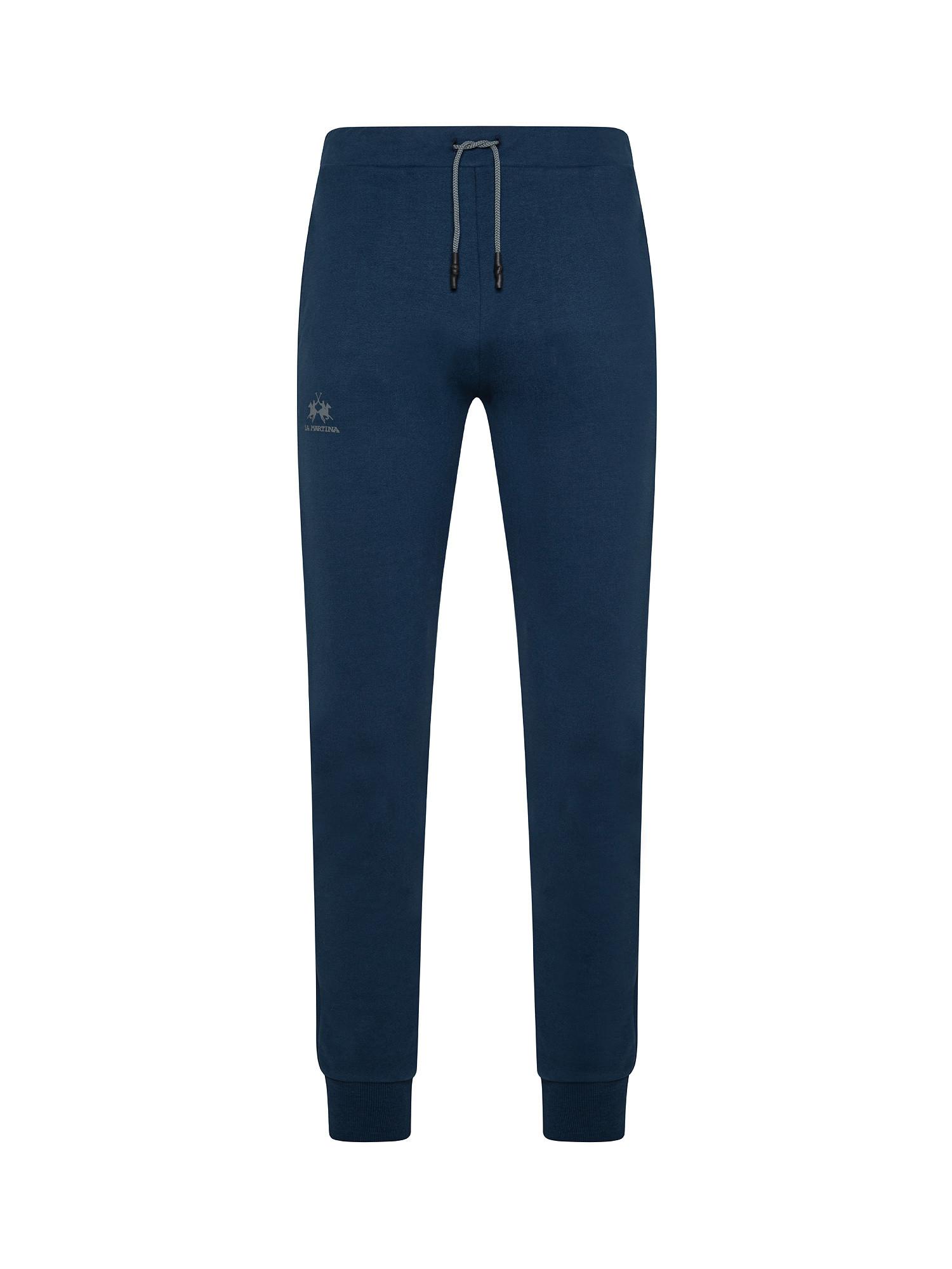 Pantalone da uomo regular fit, Blu, large image number 0