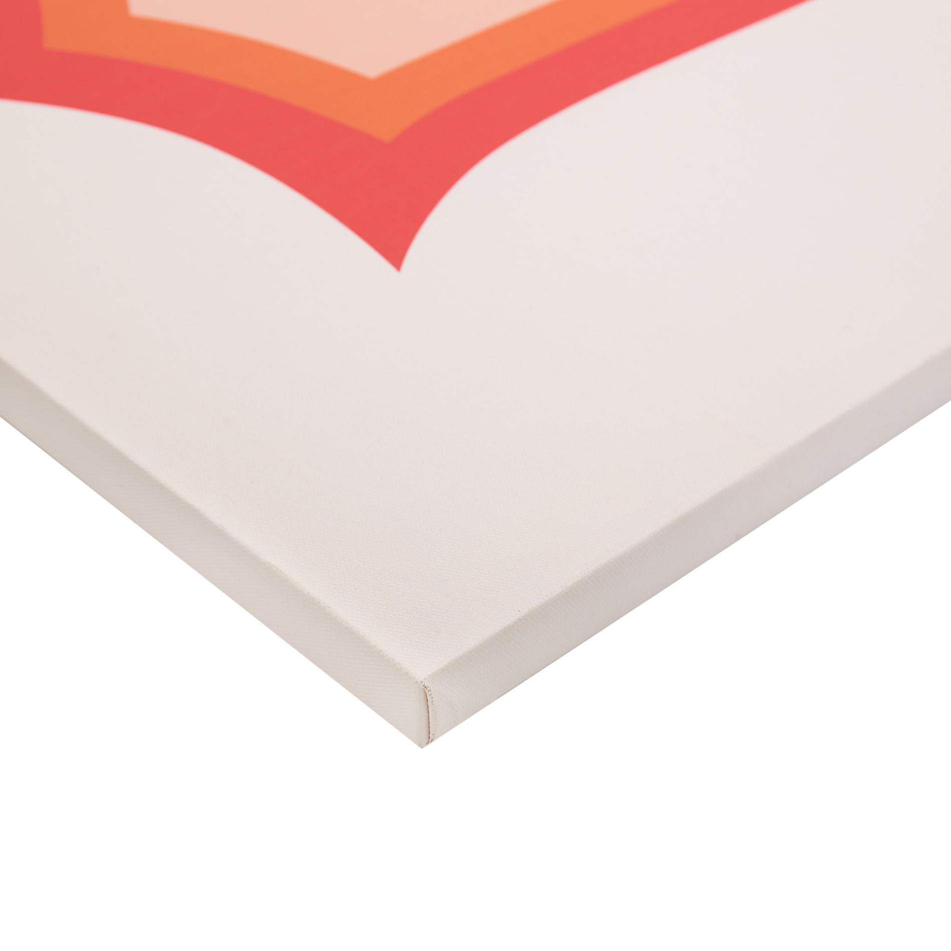 Tela con stampa fotografica occhiali, Arancione, large image number 1