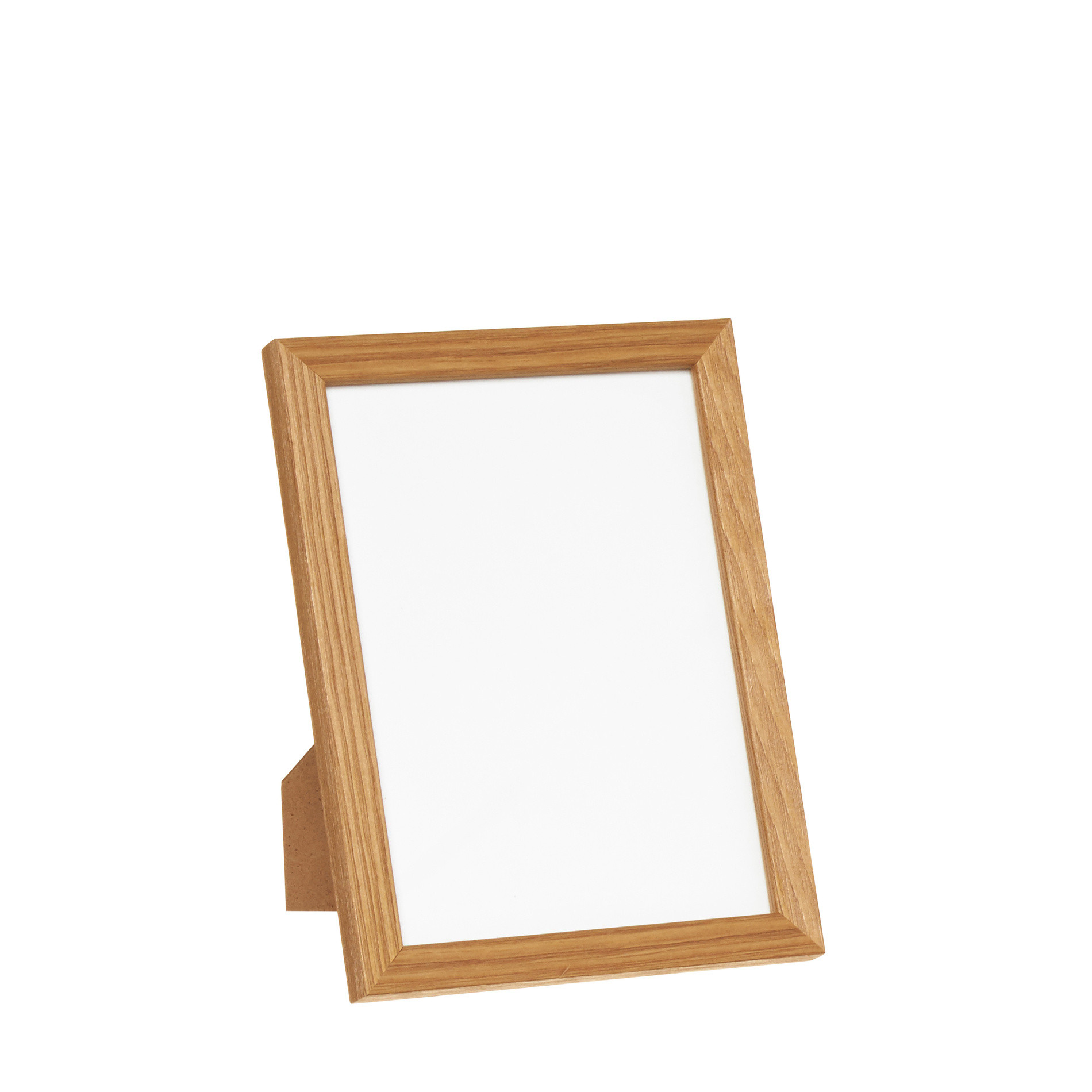 Portafoto legno bianco, Marrone chiaro, large image number 0
