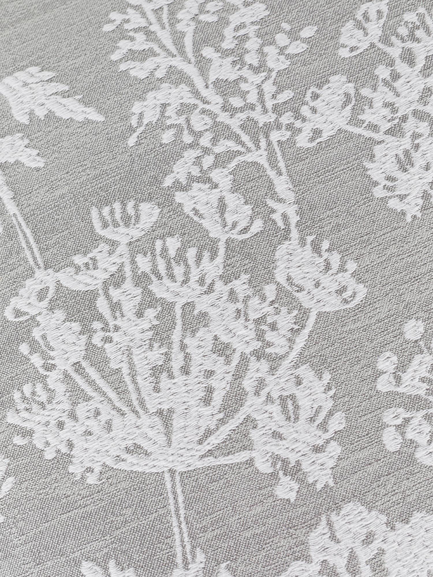 Cuscino jacquard motivo floreale 45x45cm, Multicolor, large image number 2