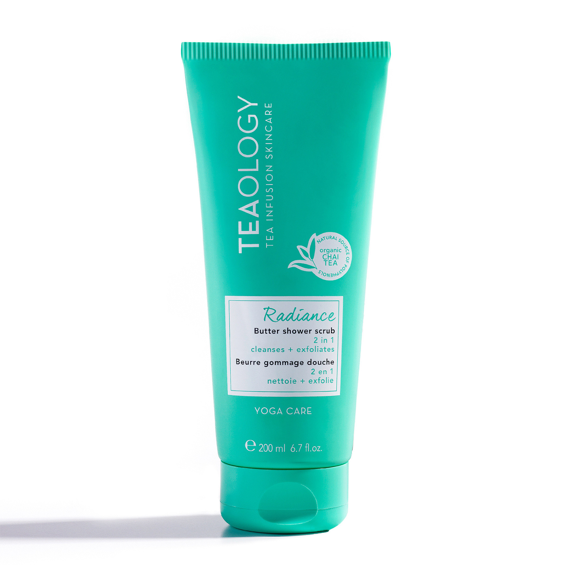 Teaology Radiance Butter Shower Scrub 200 ml, Azzurro, large image number 0