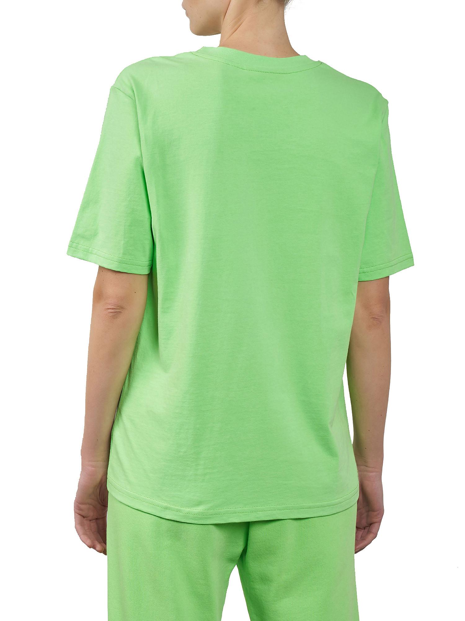 Eyelike patch T-Shirt over, Verde acido, large image number 1