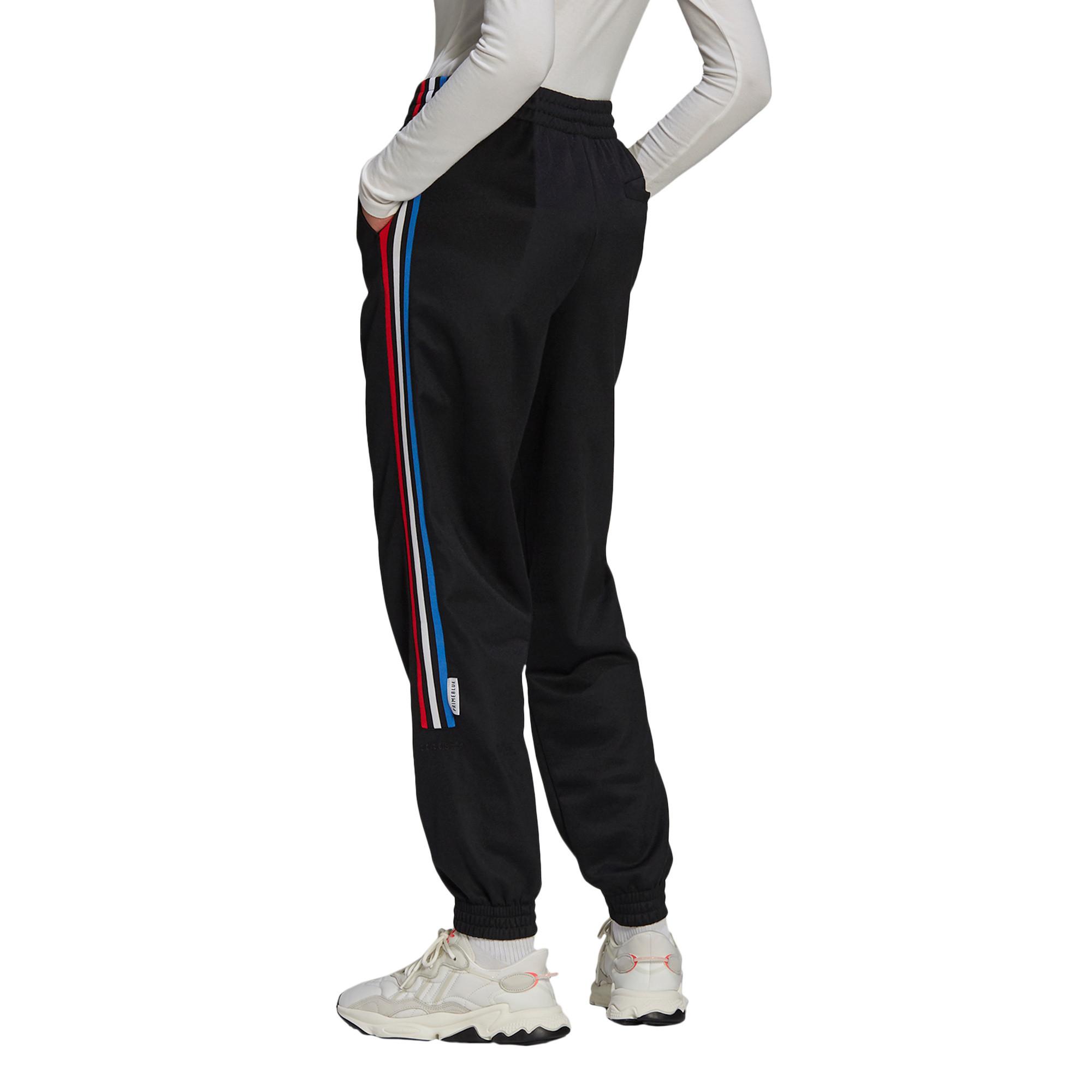 Pantaloni tuta adicolor Tricolor Primeblue, Nero, large image number 2