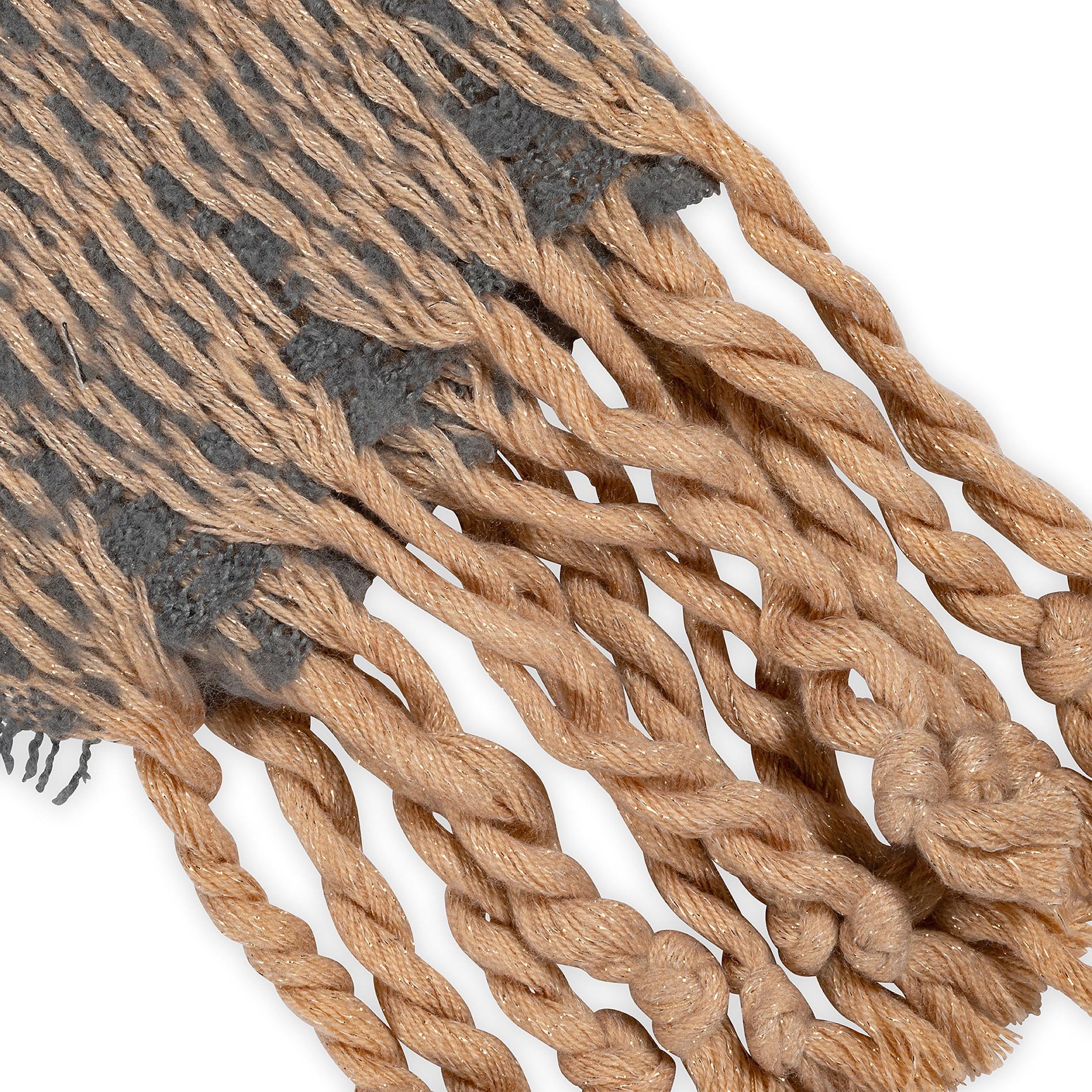Sciarpa tessuto a maglia Koan, Grigio, large image number 1