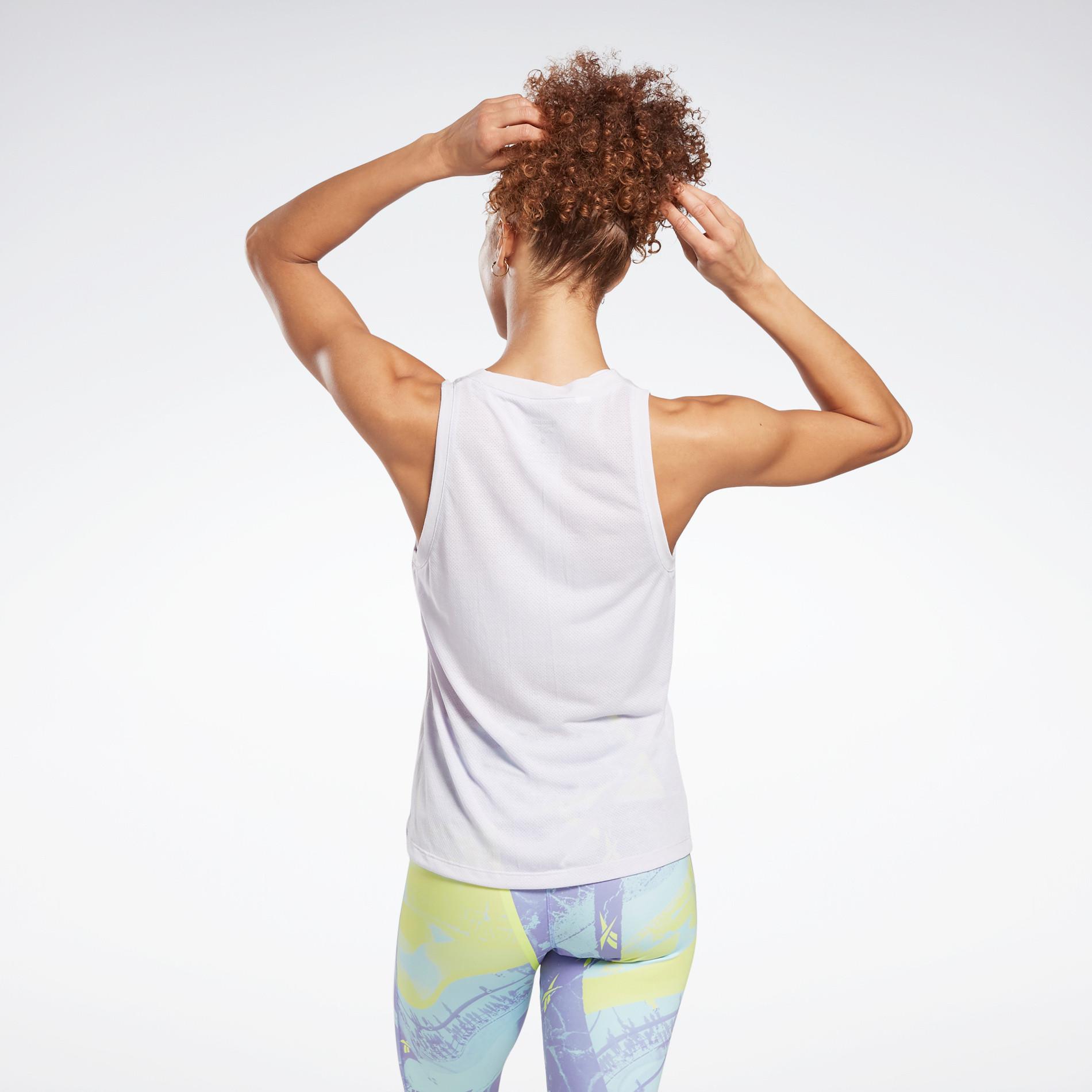 Canotta workout traspirante, Bianco, large image number 1