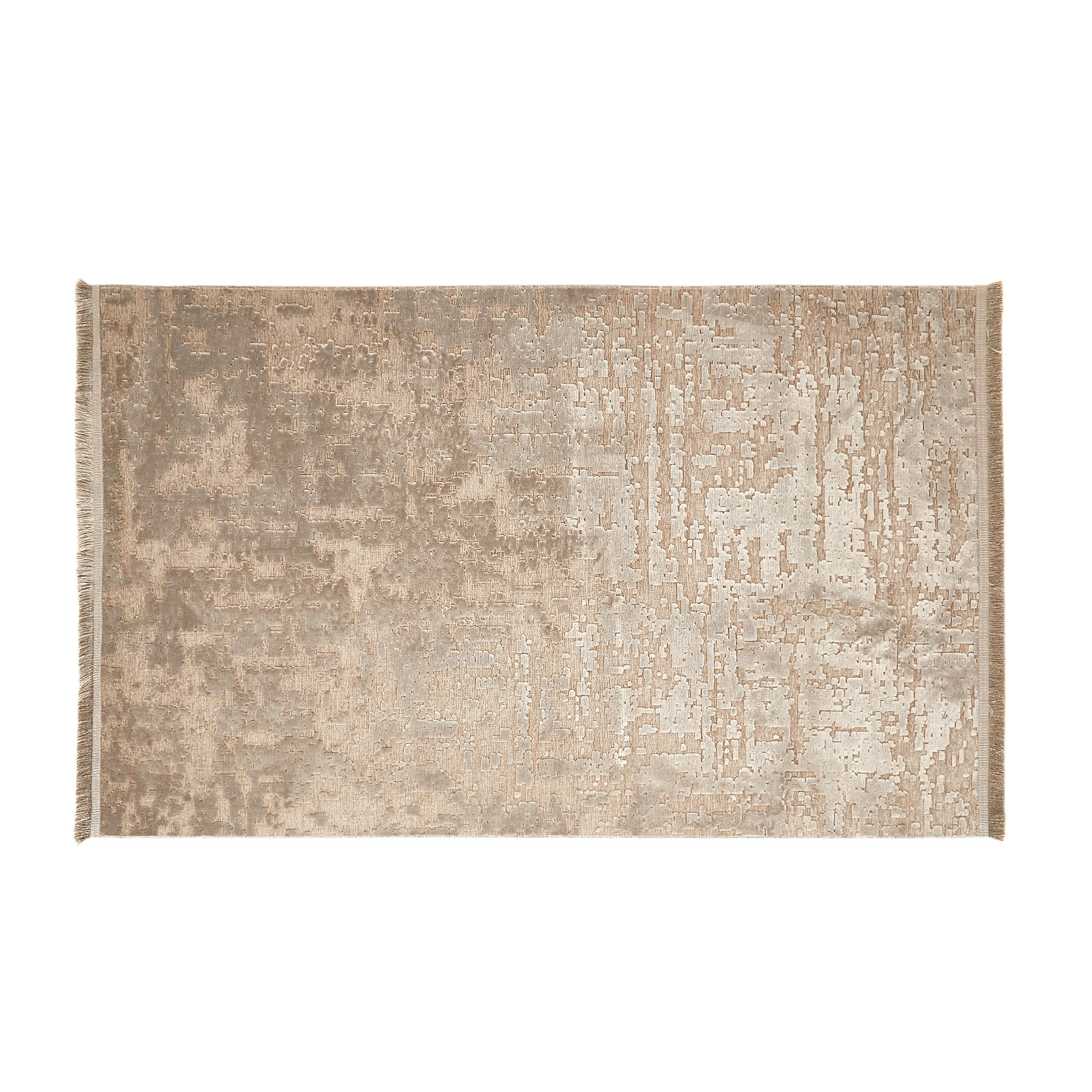 Tappeto motivo ornamentale, Beige, large image number 0