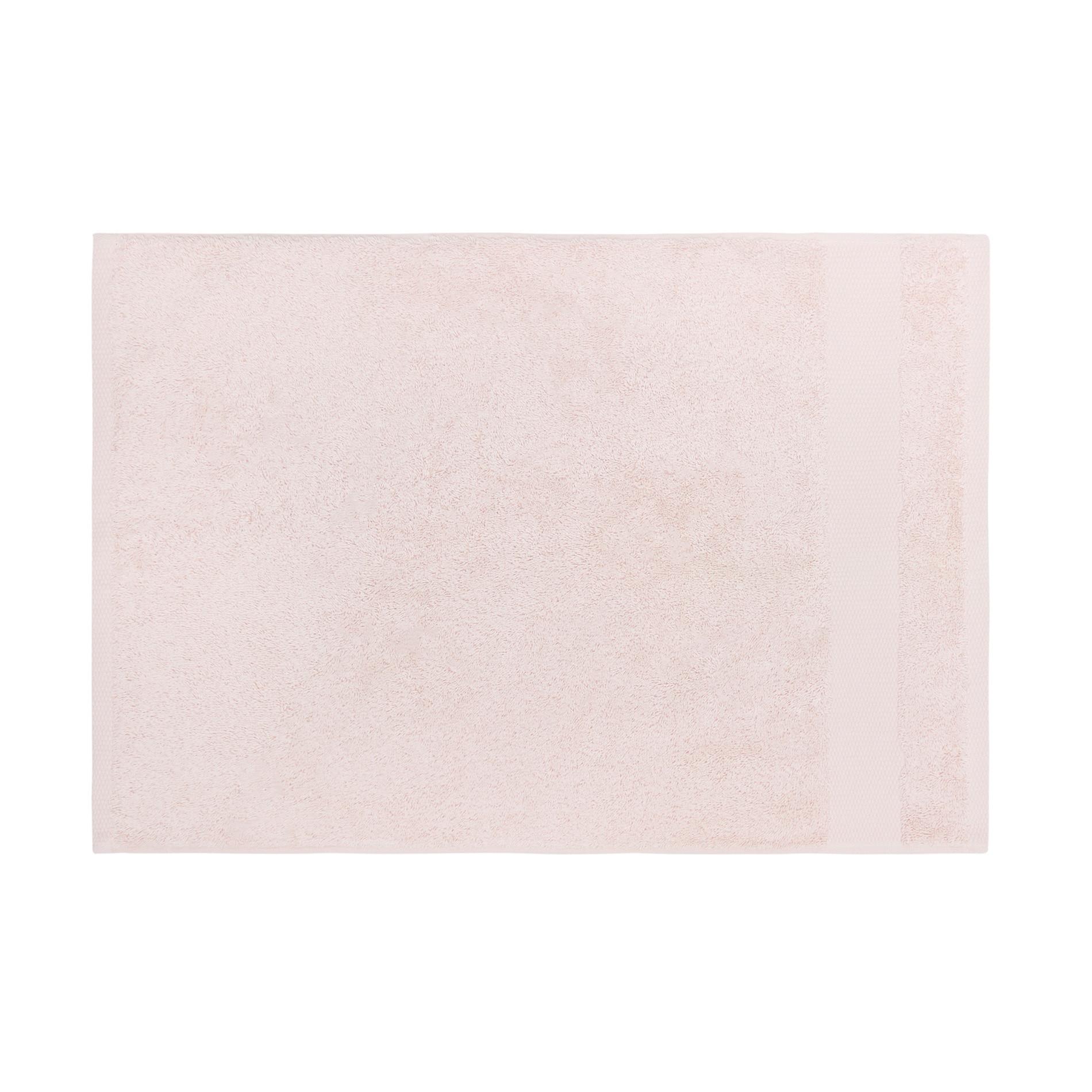 Asciugamano spugna di puro cotone Zefiro, Rosa cipria, large image number 2