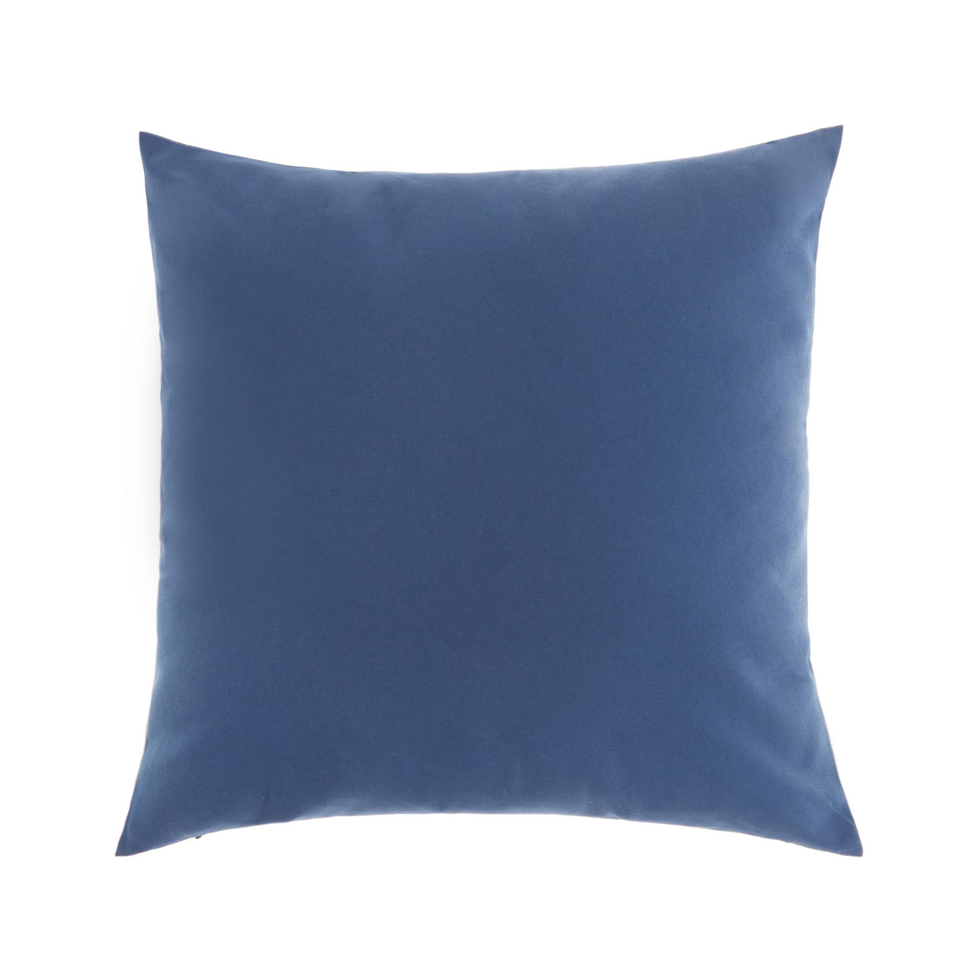 Cuscino ricamo conchiglie 45x45cm, Blu, large image number 2