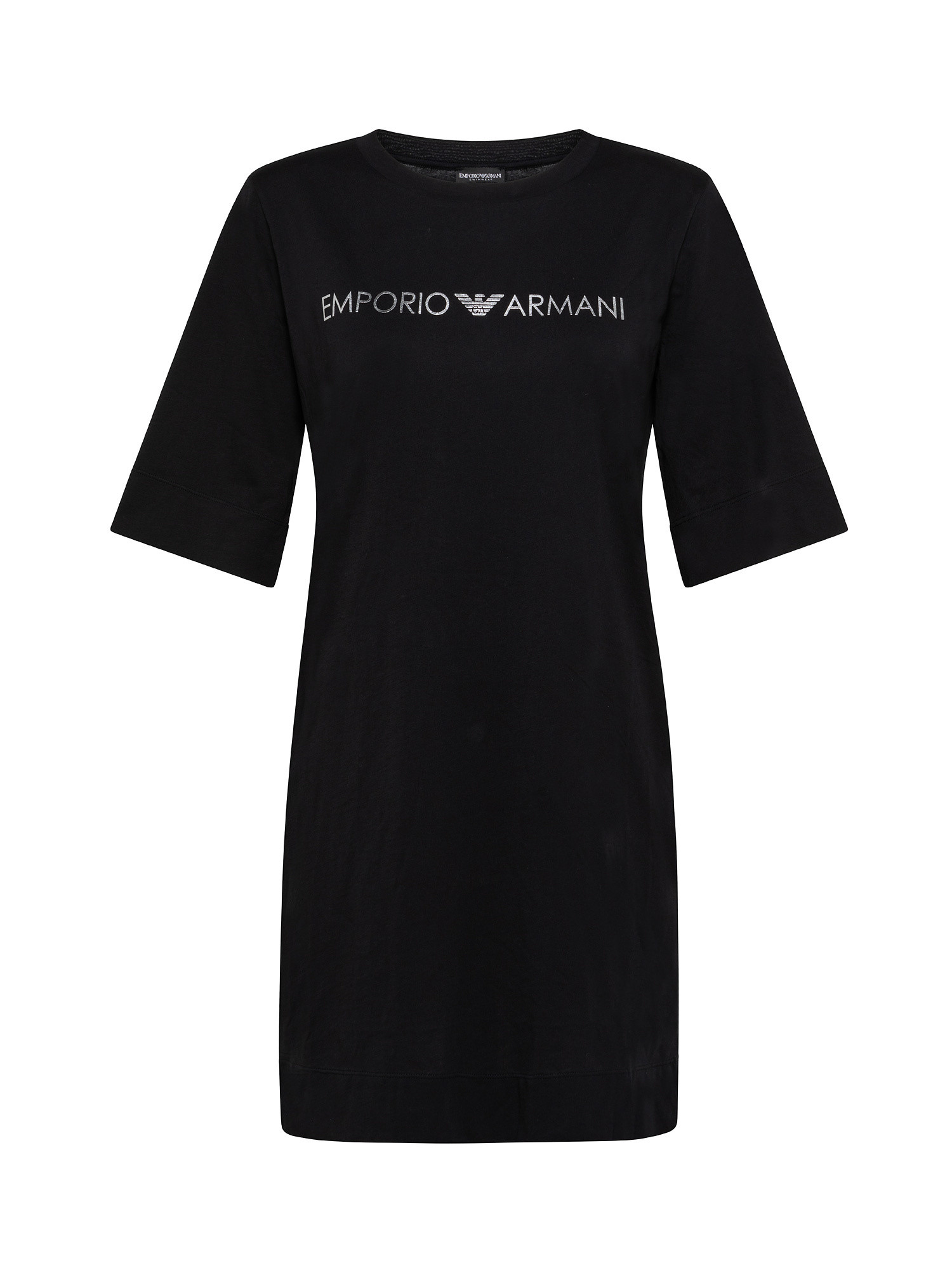 Maxi T-Shirt copricostume, Nero, large image number 0