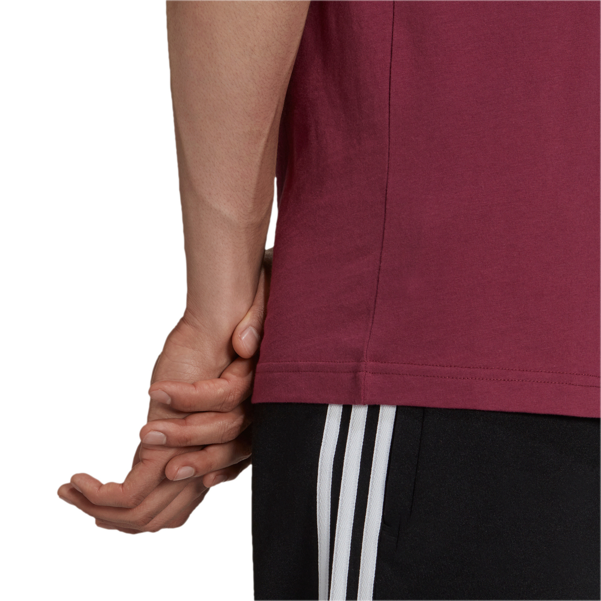 T-shirt uomo adicolor Classics Trefoil, Bianco/Rosso, large image number 5
