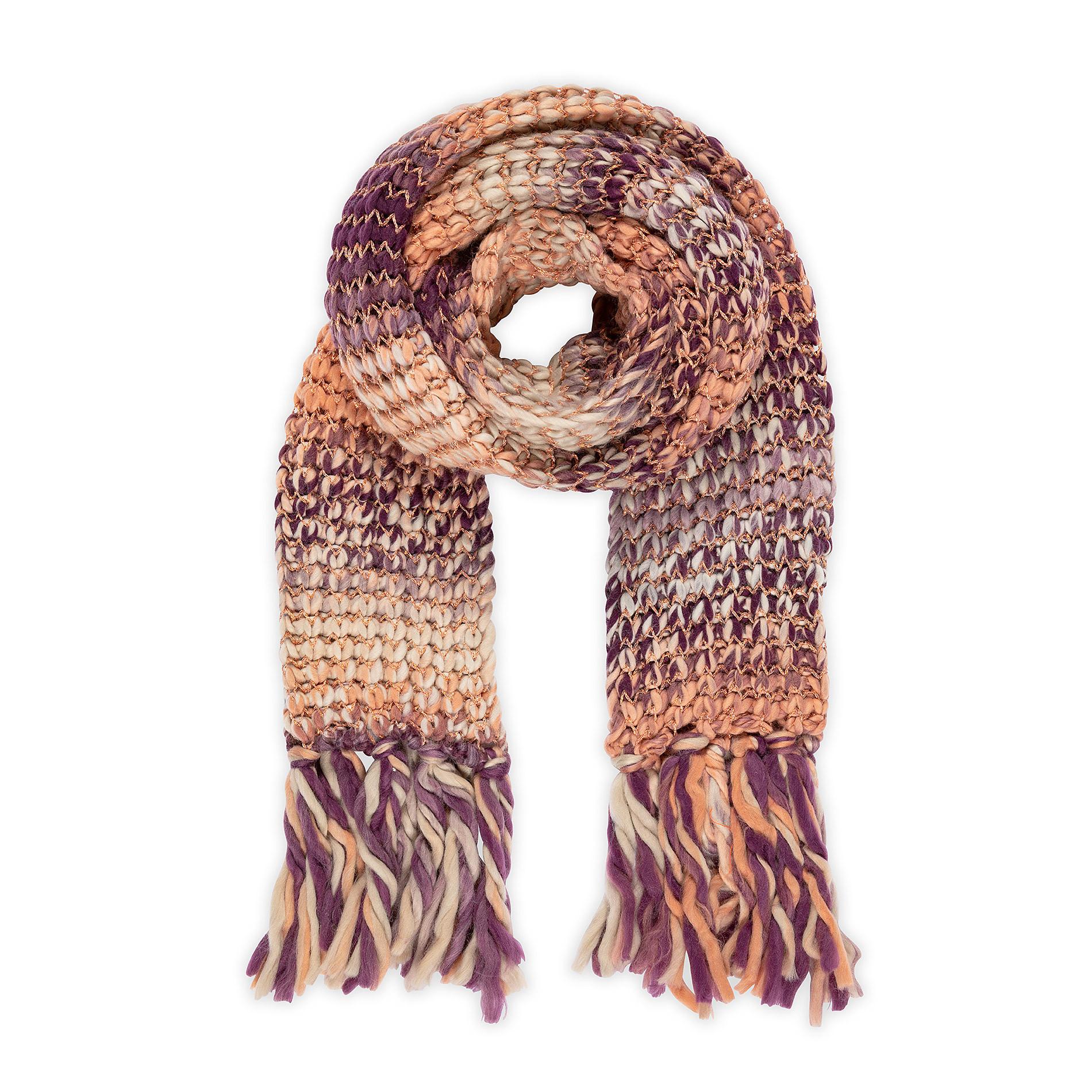Sciarpa tessuto intrecciato Koan, Arancione, large image number 0