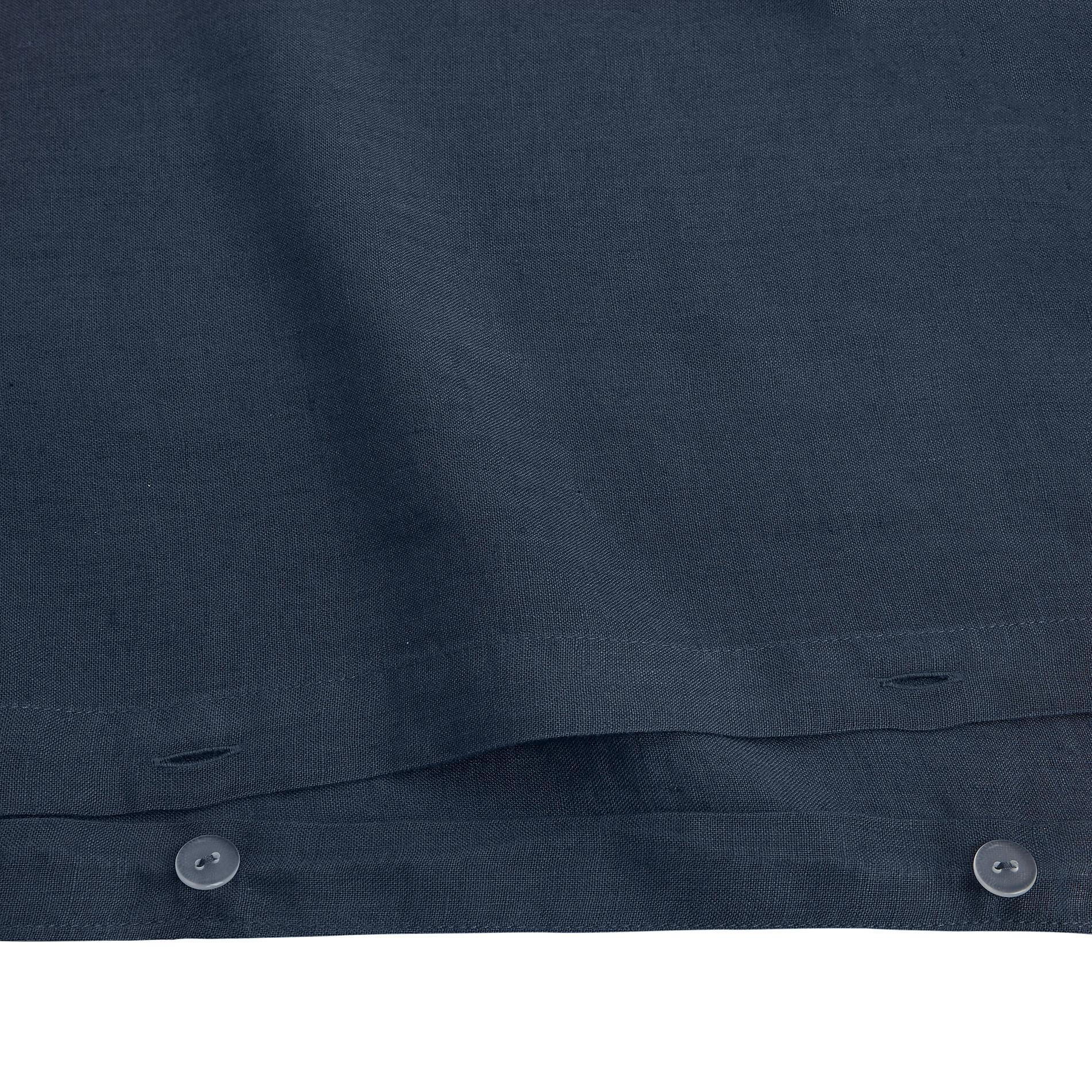 Copripiumino lino alta qualità Interno 11, Blu, large image number 3
