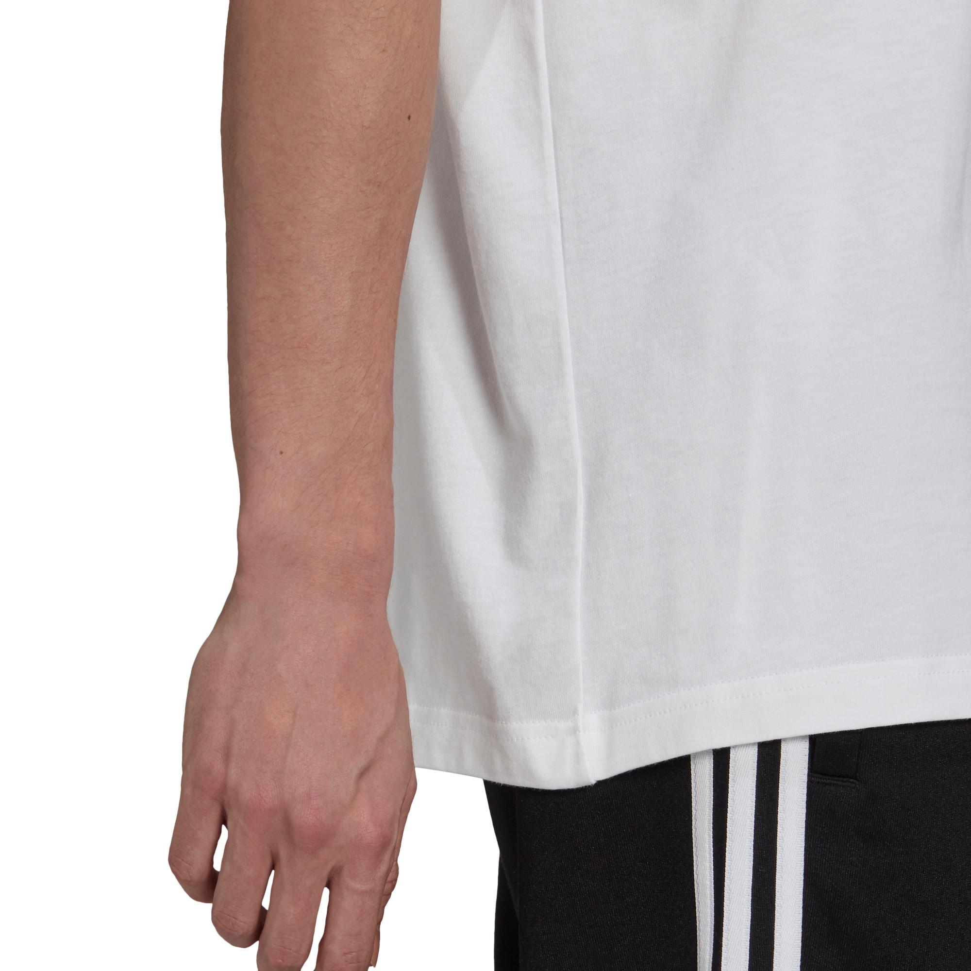 T-shirt uomo adicolor Classics Trefoil, Bianco/Nero, large image number 5