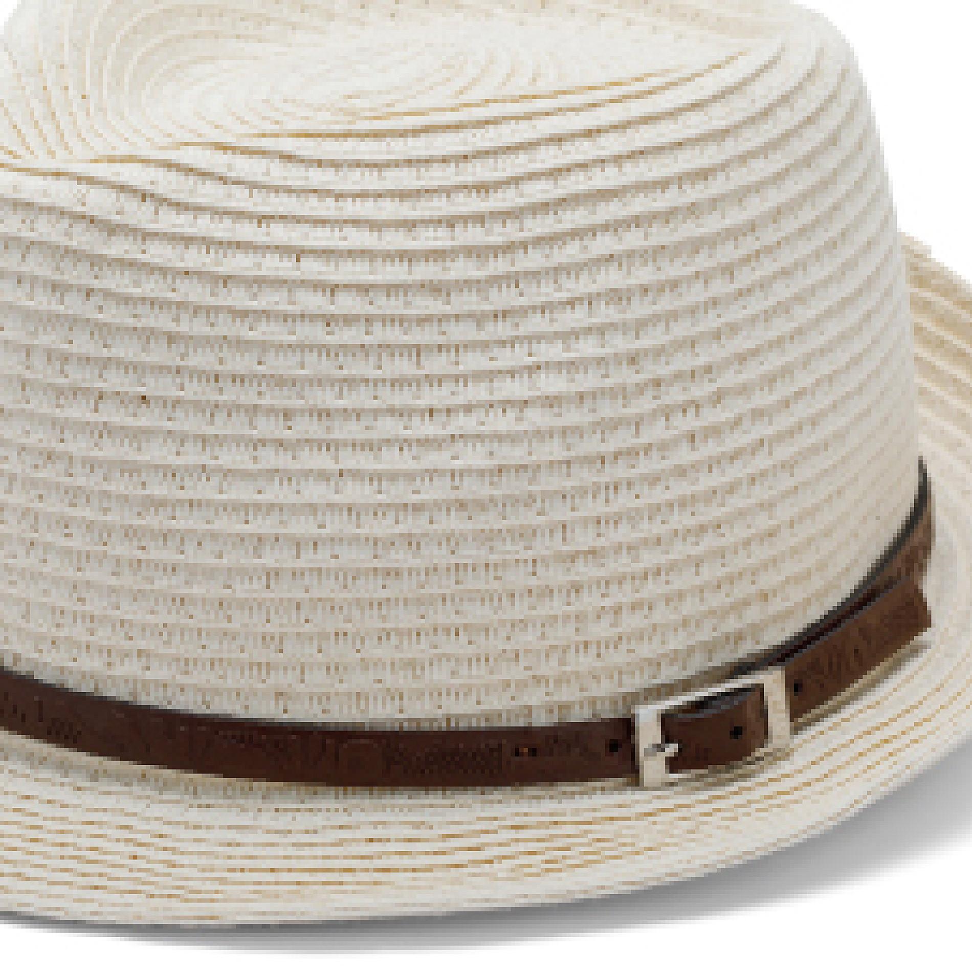 Cappello con cinturino Luca D'altieri, Bianco, large image number 1