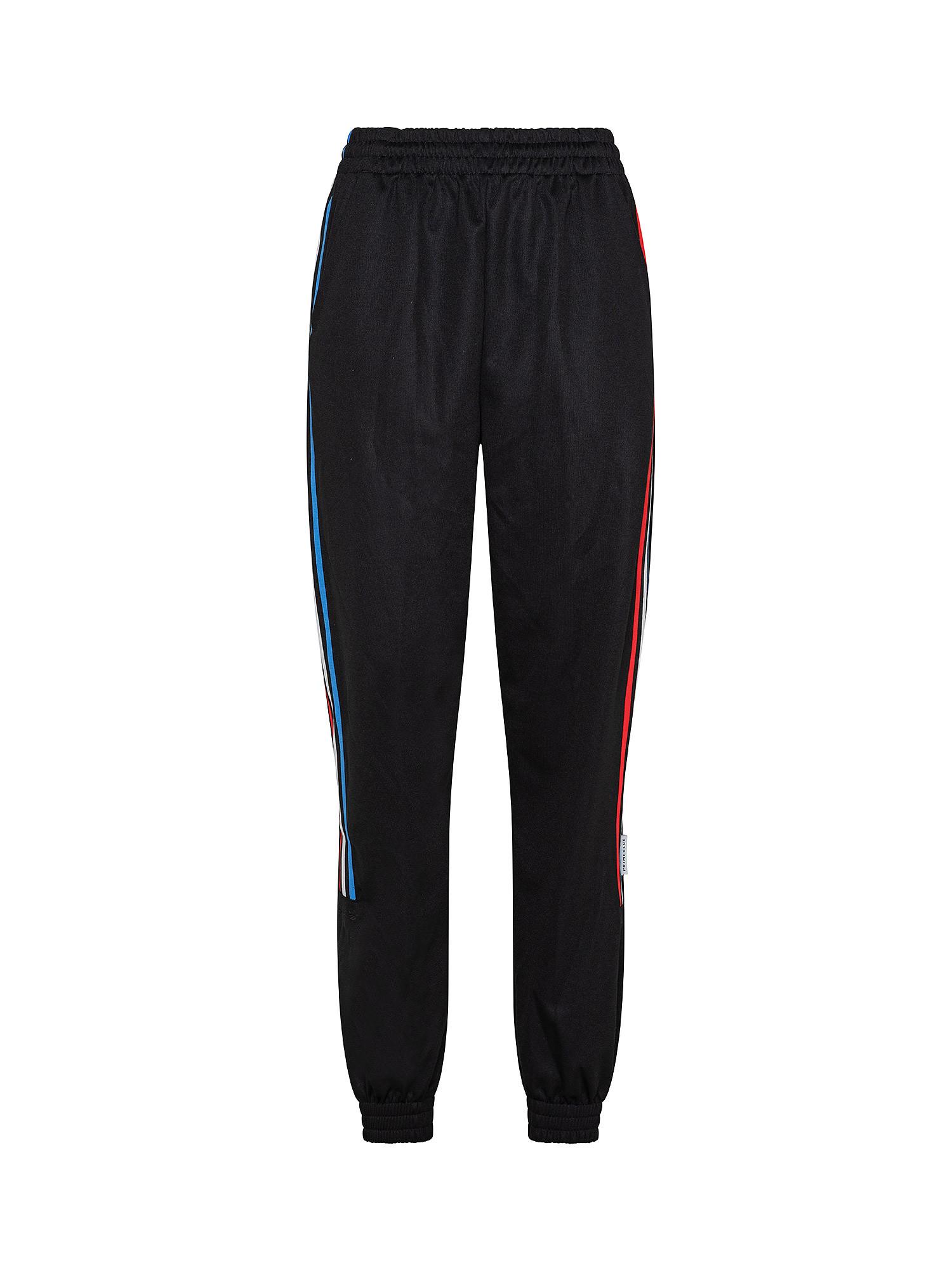 Pantaloni tuta adicolor Tricolor Primeblue, Nero, large image number 0