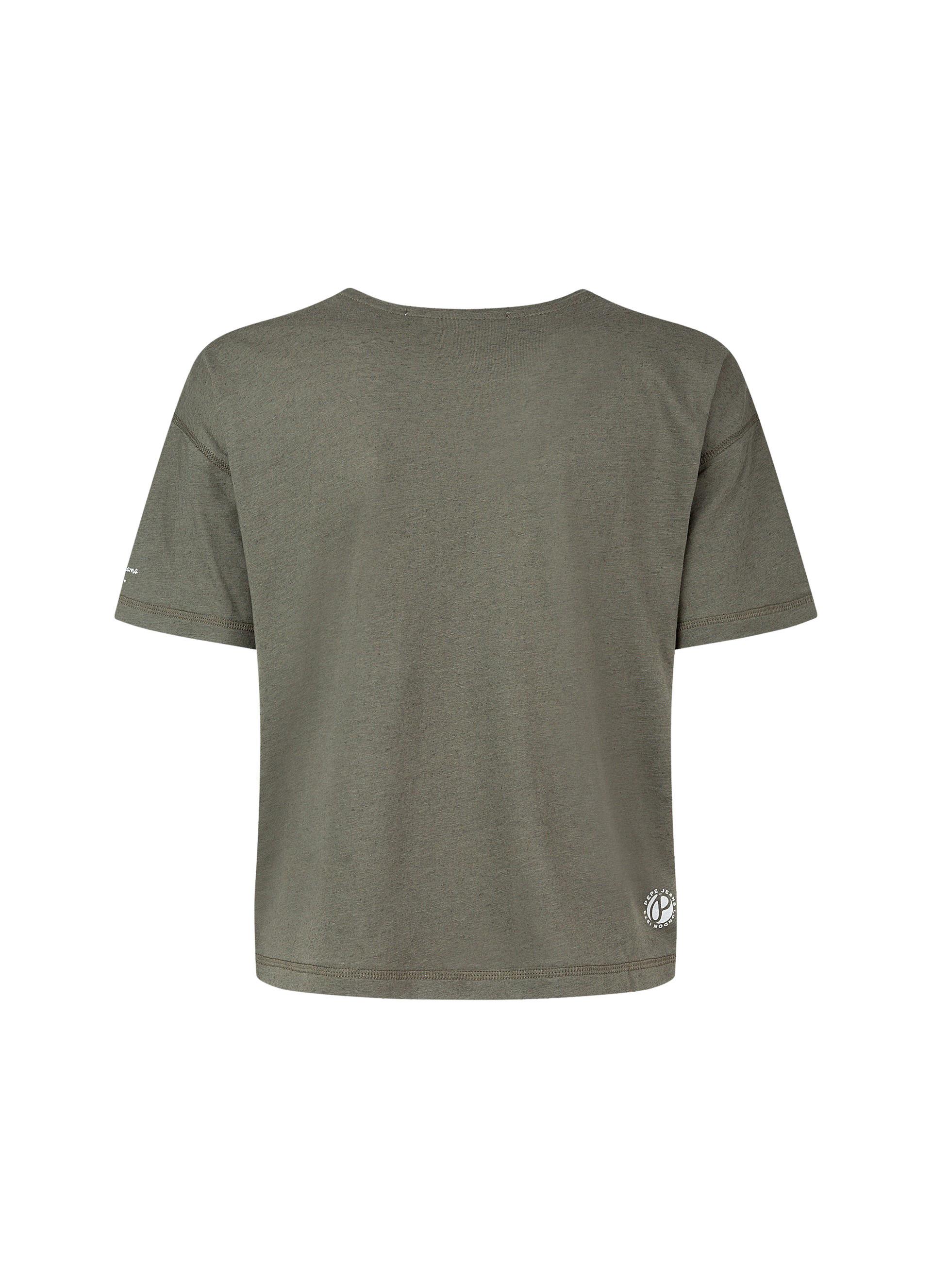 T-Shirt donna Amaya, Arancione, large image number 1