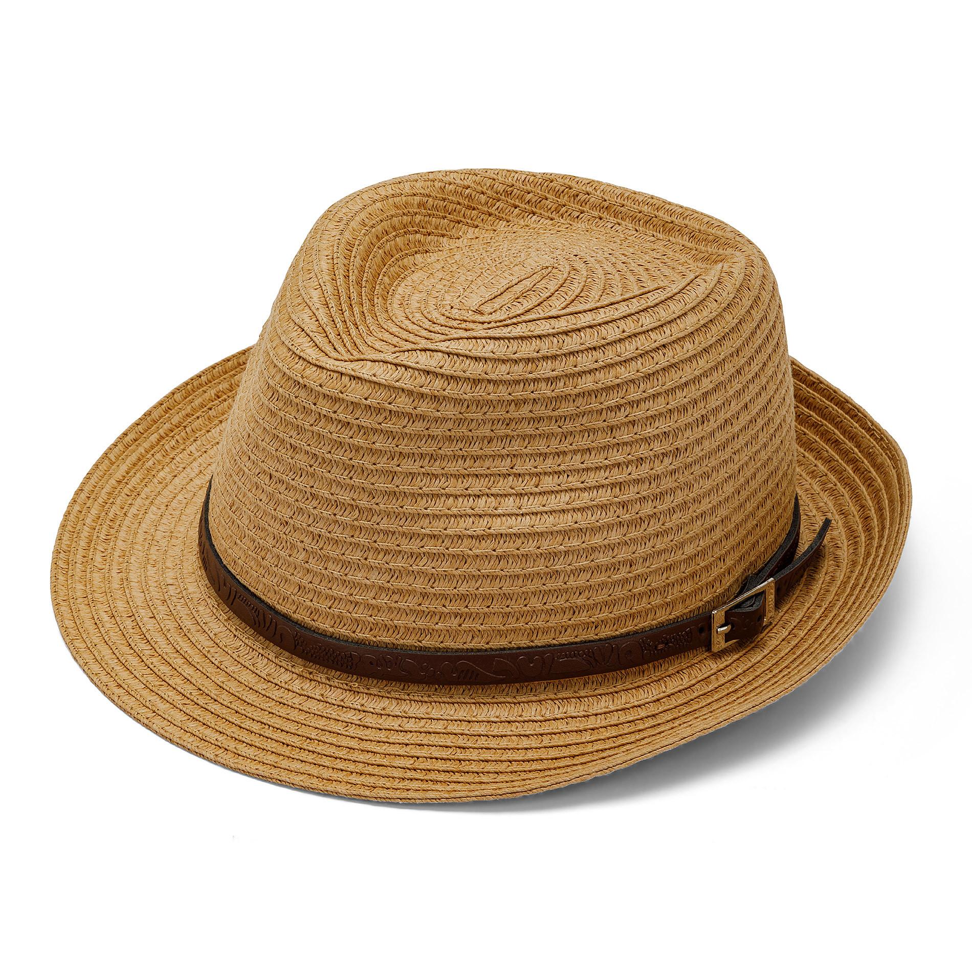 Cappello con cinturino Luca D'altieri, Giallo, large image number 0