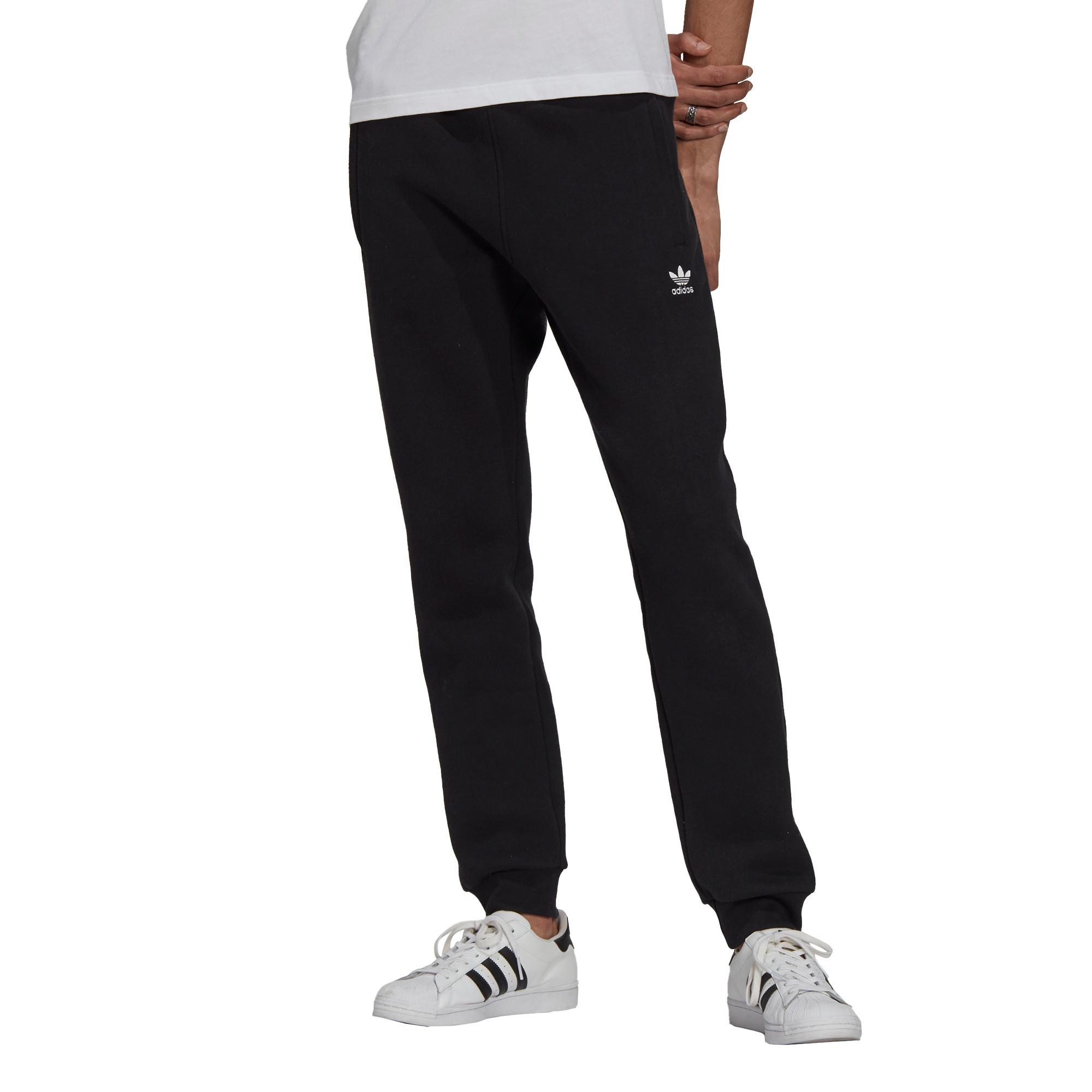 Pantaloni adicolor Essentials Trefoil, Nero, large image number 2
