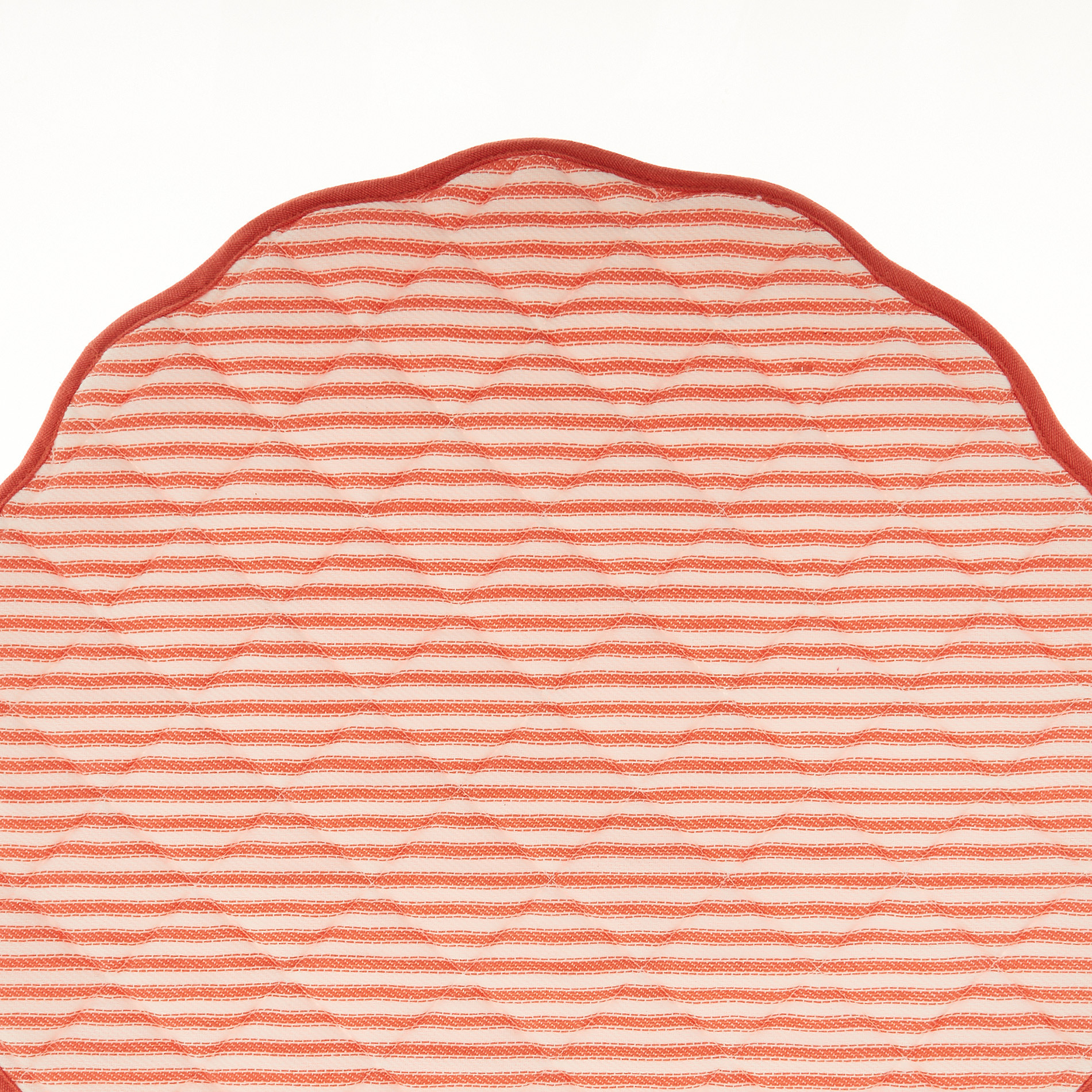 Tovaglietta puro cotone stampa doubleface, Arancione, large image number 1