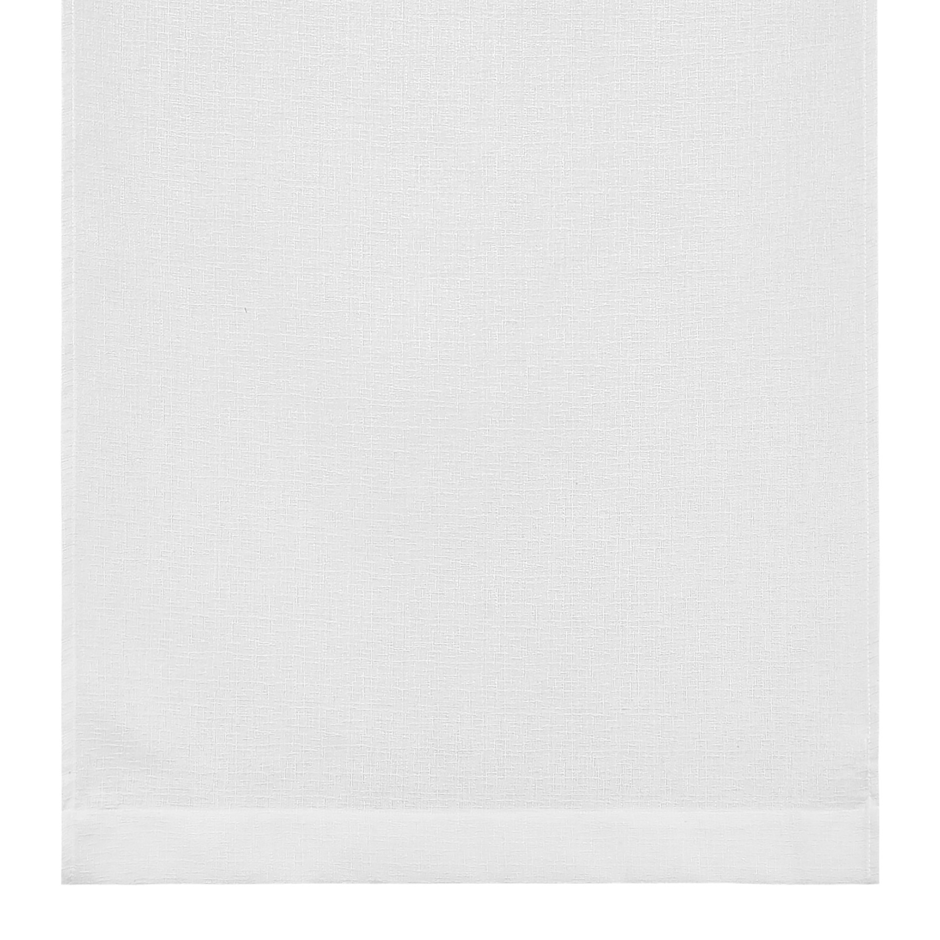 Tendina effetto fiammato tinta unita, Bianco, large image number 0