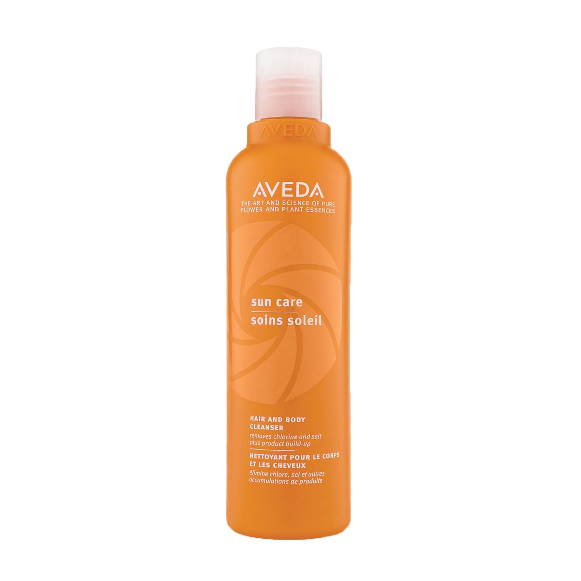 Aveda suncare docciaschiuma corpo e capelli mare e piscina 250 ml, Arancione, large image number 0