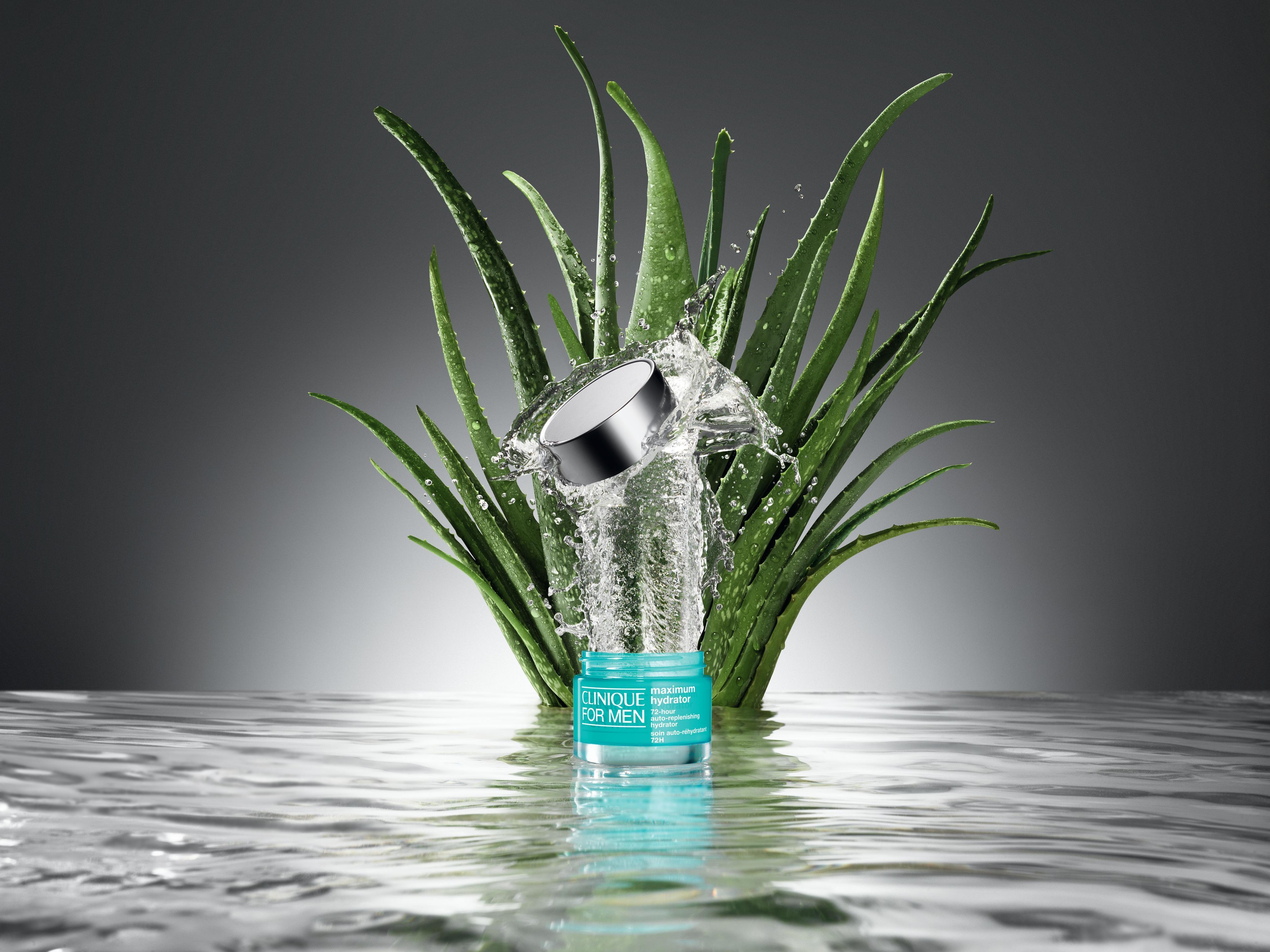 Clinique men maximum hydrator 72h crema gel 50 ml, Nero, large image number 1