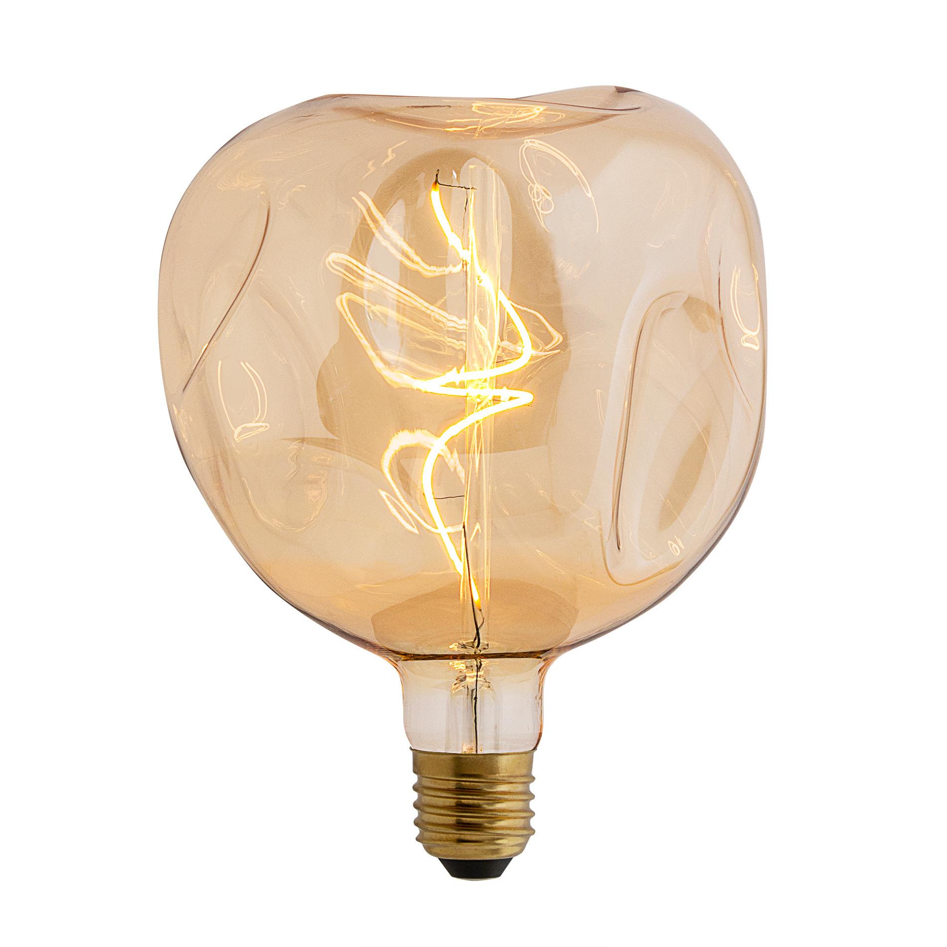 Lampadina Bumped Amber LEDbyLED, Trasparente, large image number 0