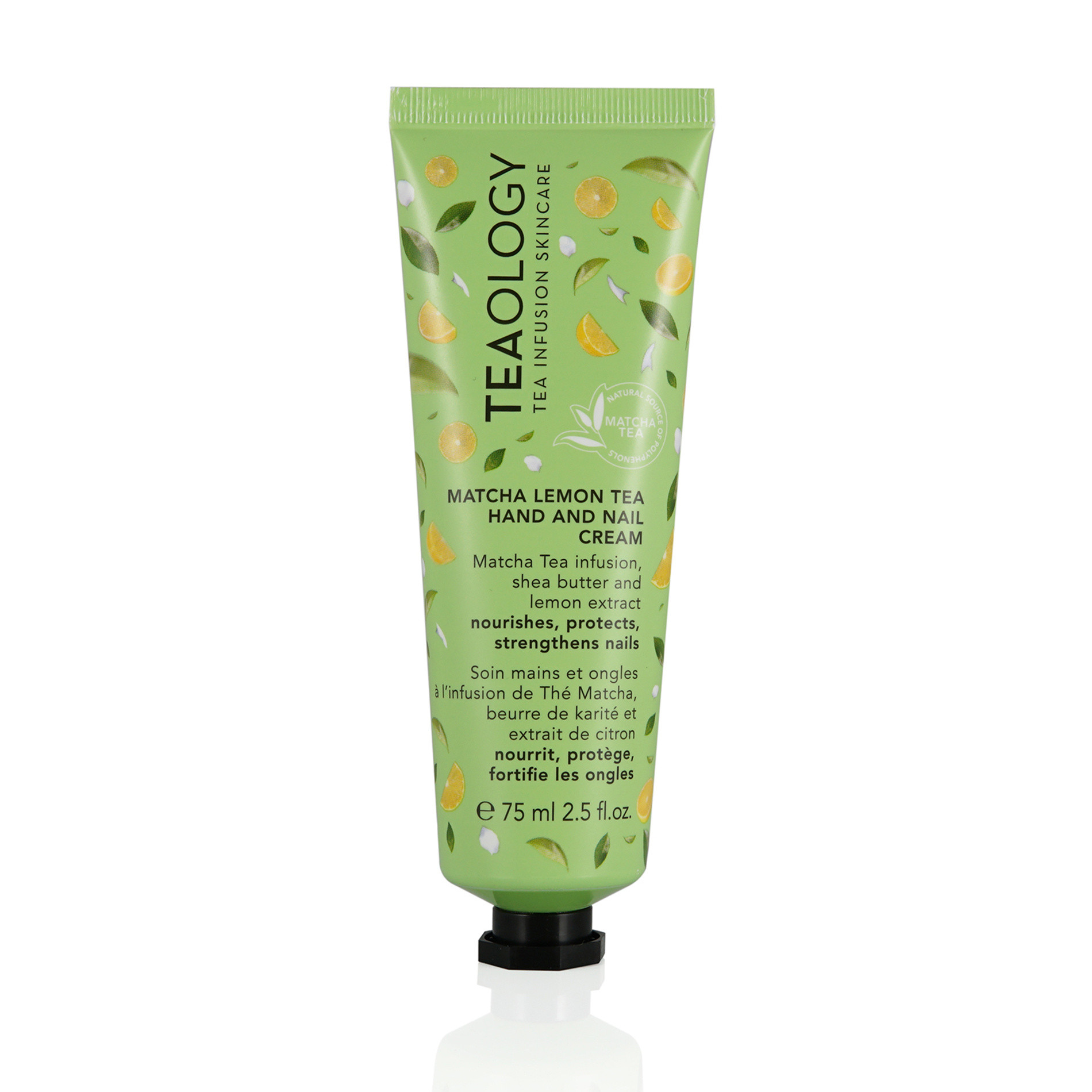 Matcha Tea Hand and Nail Cream 75 ml, Verde, large image number 0
