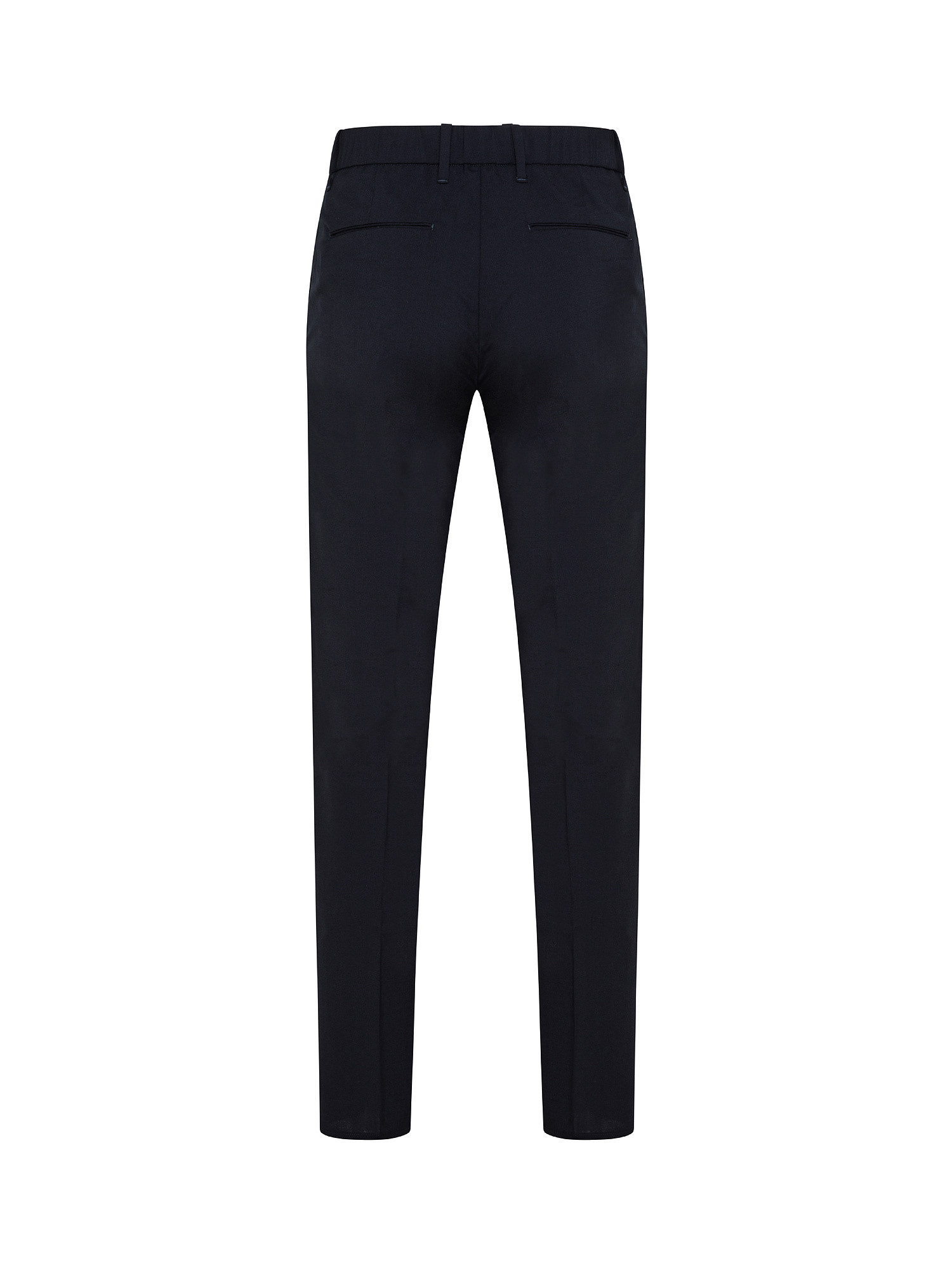 Pantaloni Chino coulisse, Blu scuro, large image number 1