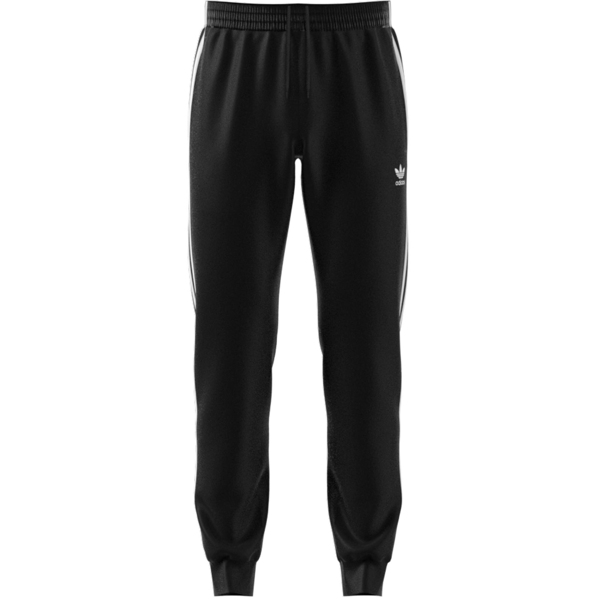 Pantaloni tuta adicolor Classics Primeblue SST, Bianco/Nero, large image number 0