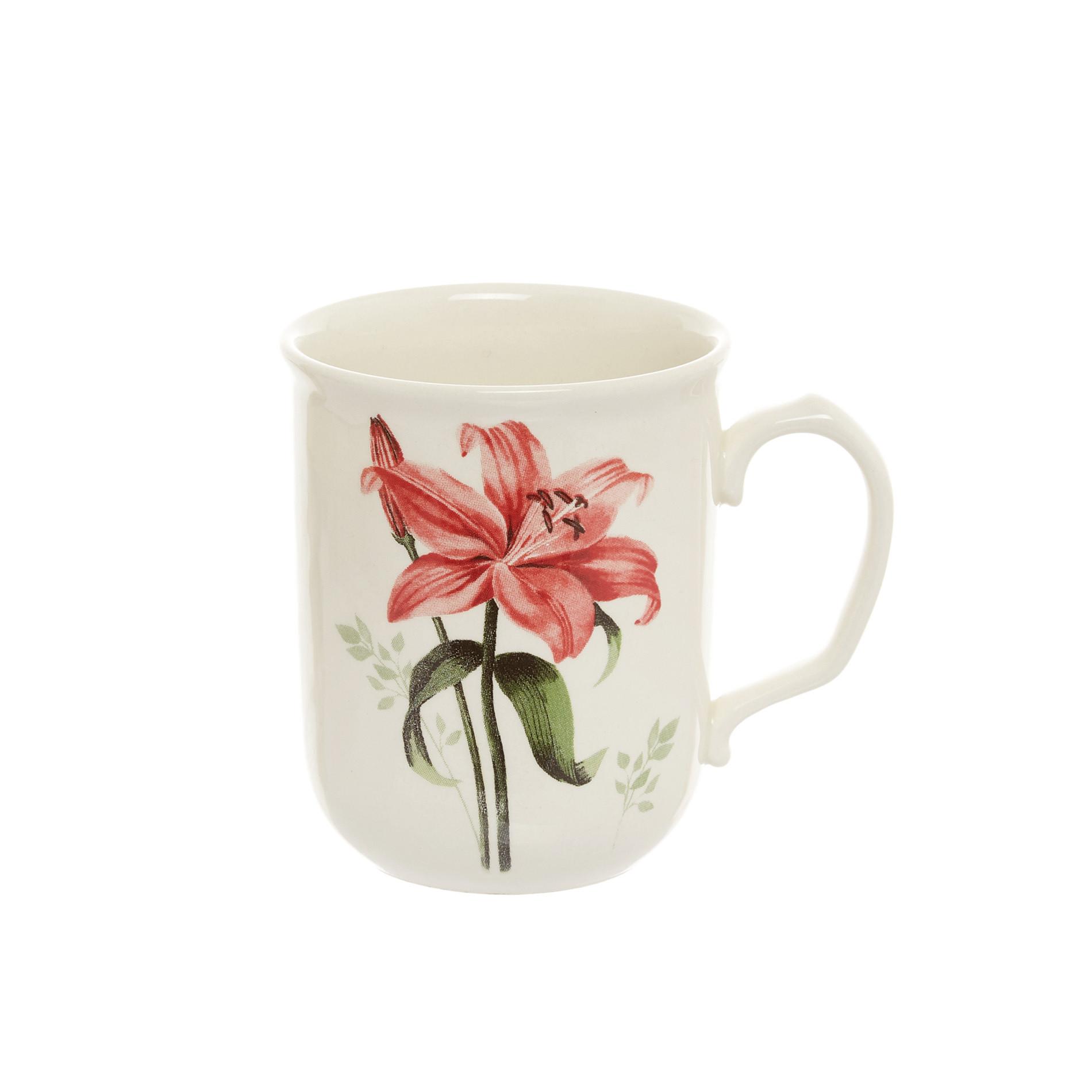 Mug ceramica Rosemary, Bianco, large image number 0
