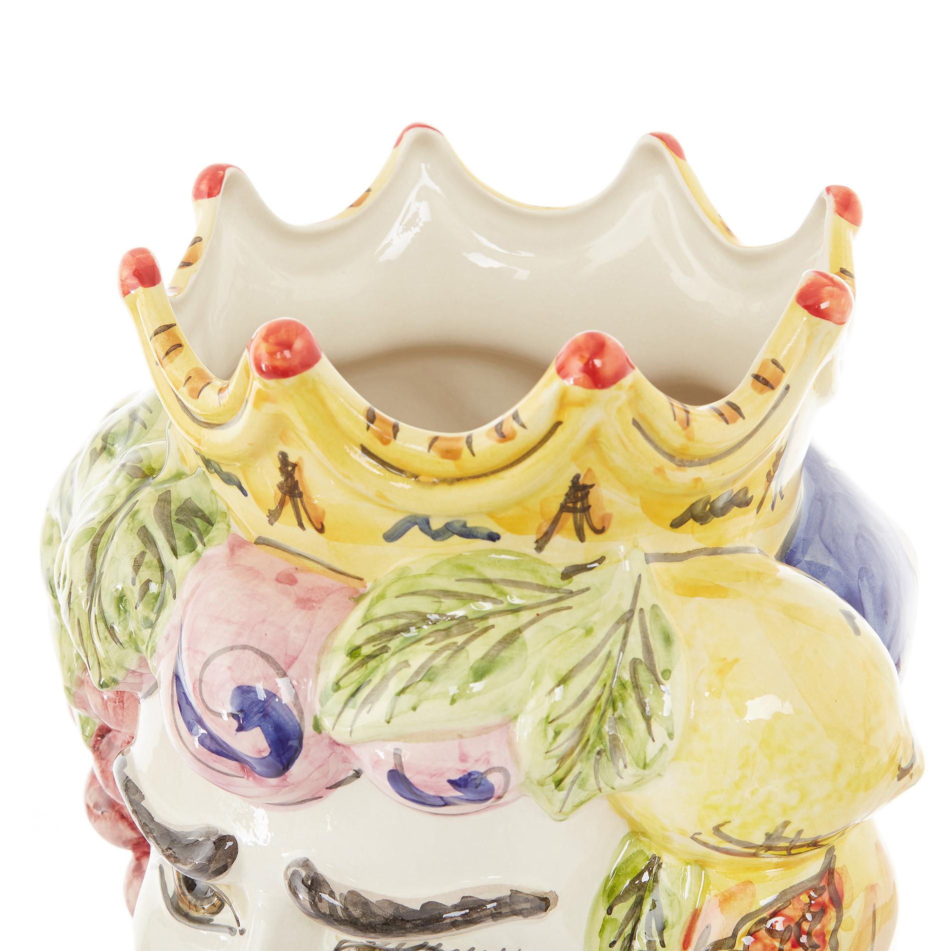 Testa di moro tradizionale by Ceramiche Siciliane Ruggeri, Multicolor, large image number 4