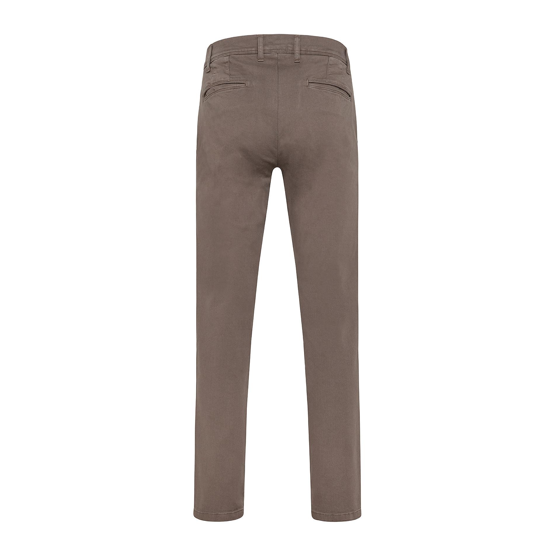 Pantalone chino gabardina stretch JCT, Beige, large image number 1