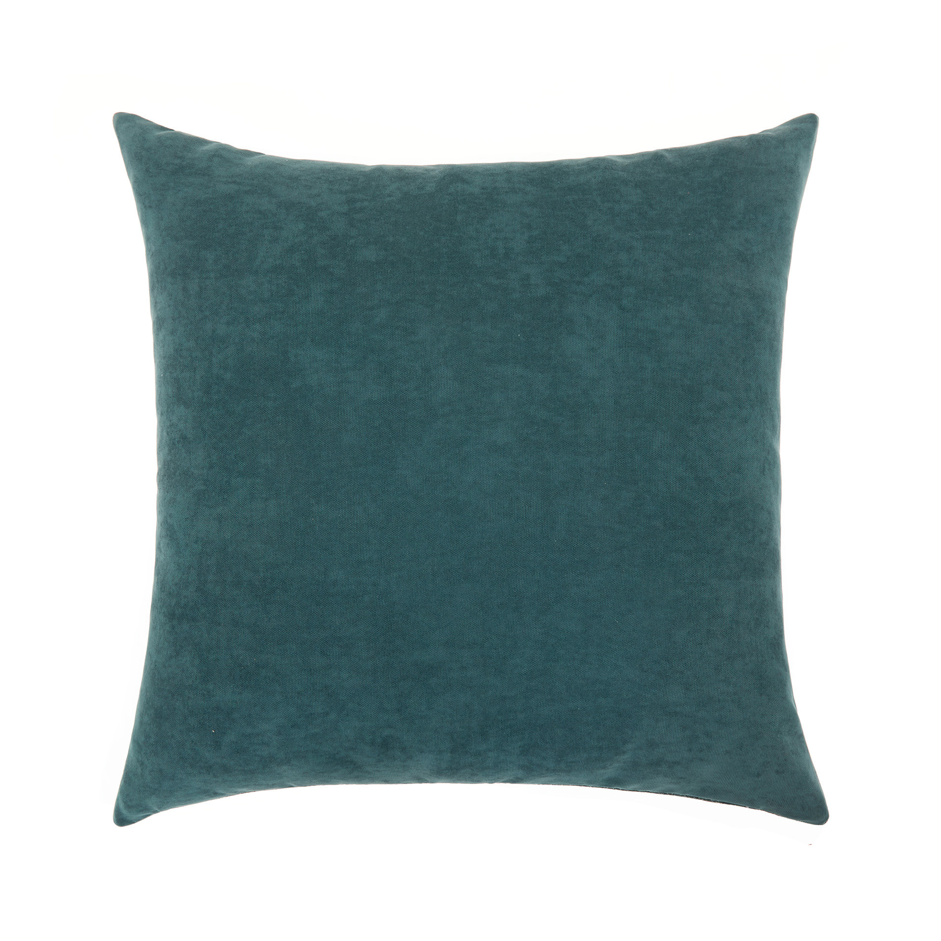 Cuscino sfumature melange 50x50cm, Verde scuro, large image number 1