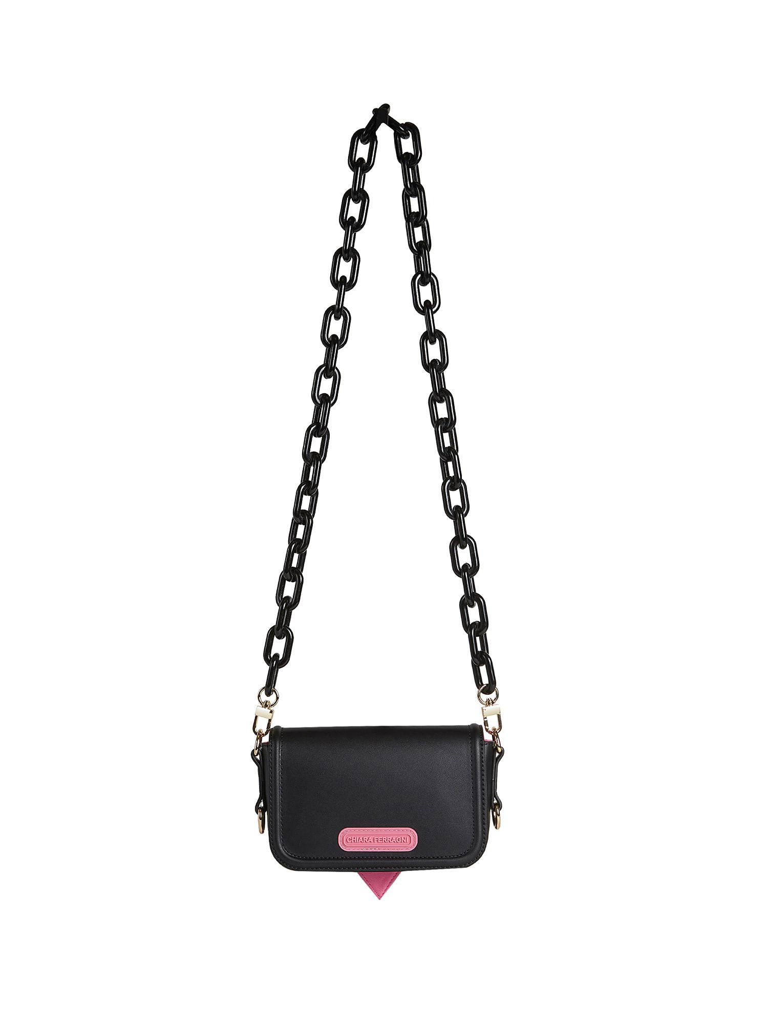 Small Eyelike Bag, Nero, large image number 1