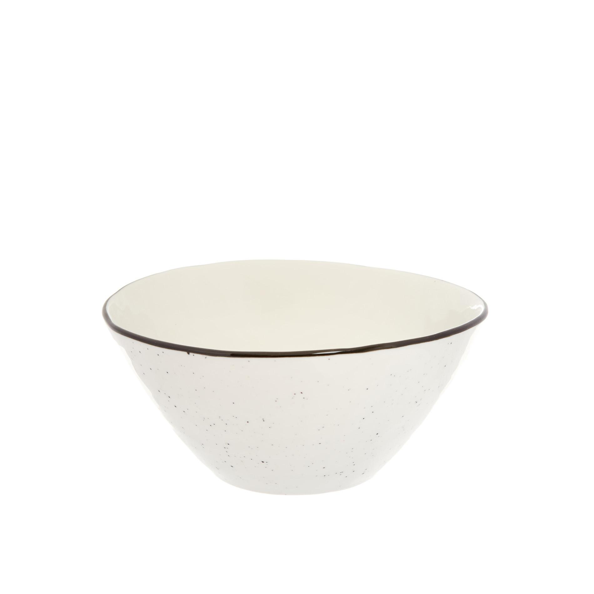 Coppa porcellana Ginevra, Bianco, large image number 0
