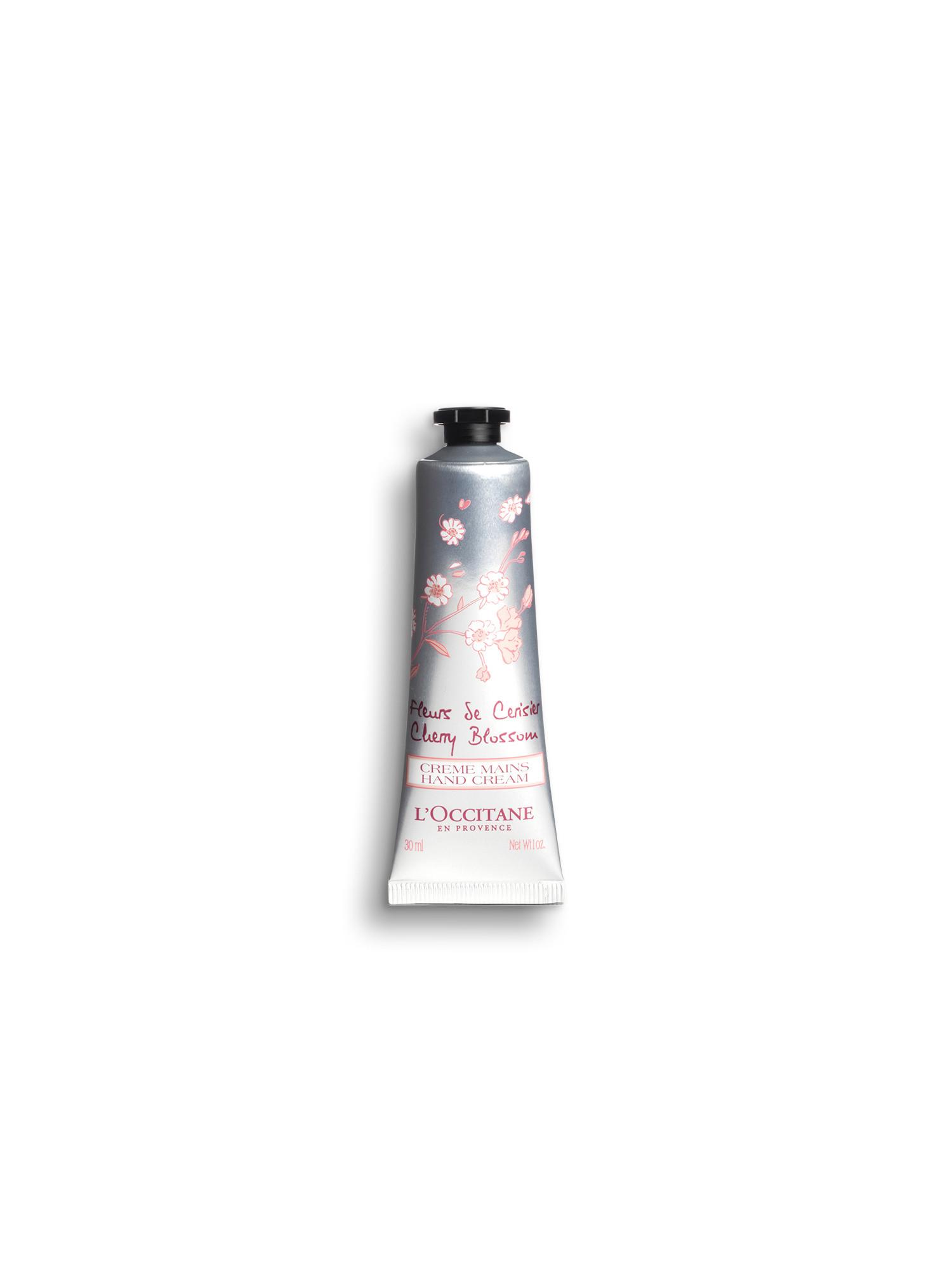 Crema Mani Fiori Di Ciliegio 30 ml, Trasparente, large image number 0