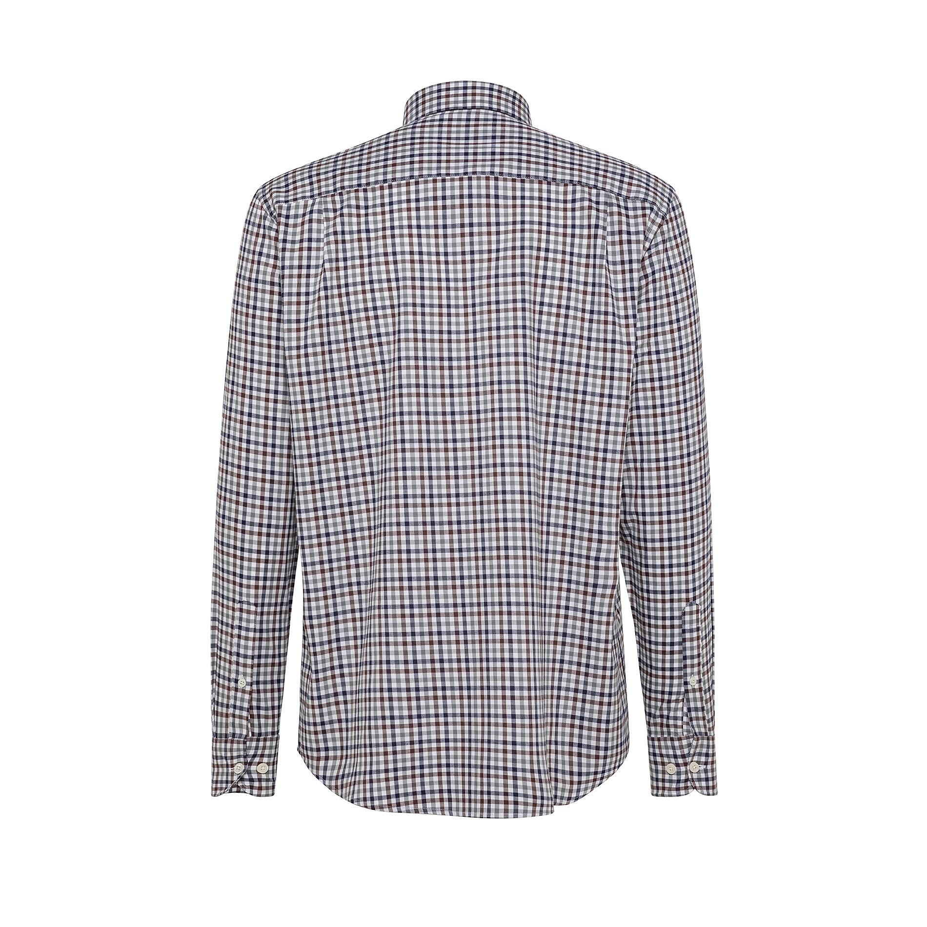Camicia button-down regular fit in cotone organico, Grigio, large image number 1