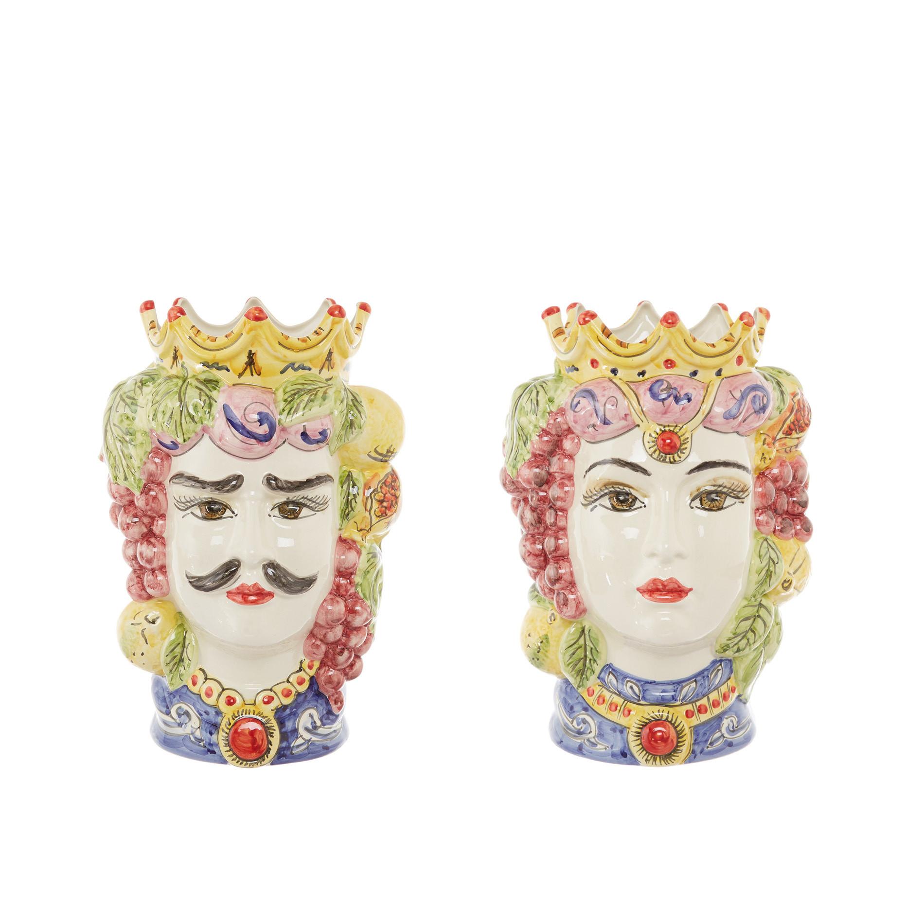 Testa di moro tradizionale by Ceramiche Siciliane Ruggeri, Multicolor, large image number 6