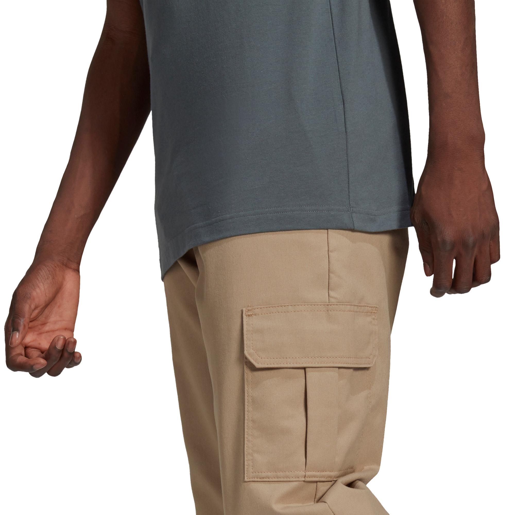 T-Shirt Adicolor Classics 3-Stripes, Blu, large image number 2