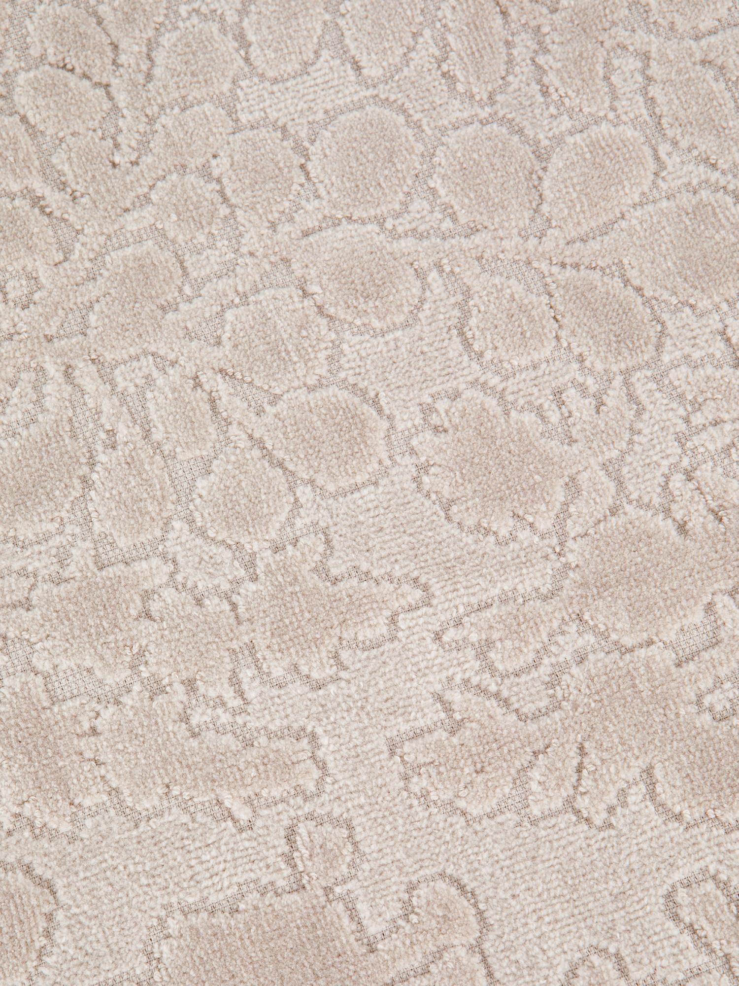 Asciugamano cotone velour tinta unita, Beige, large image number 2