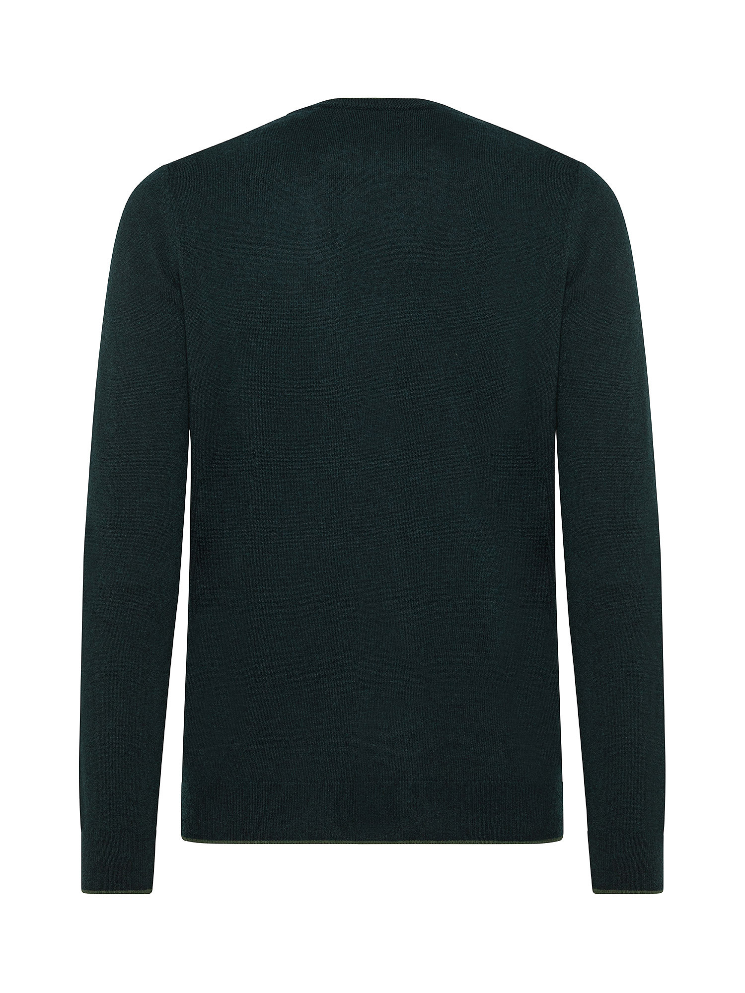 Maglia in eco cachemire, Verde, large image number 1