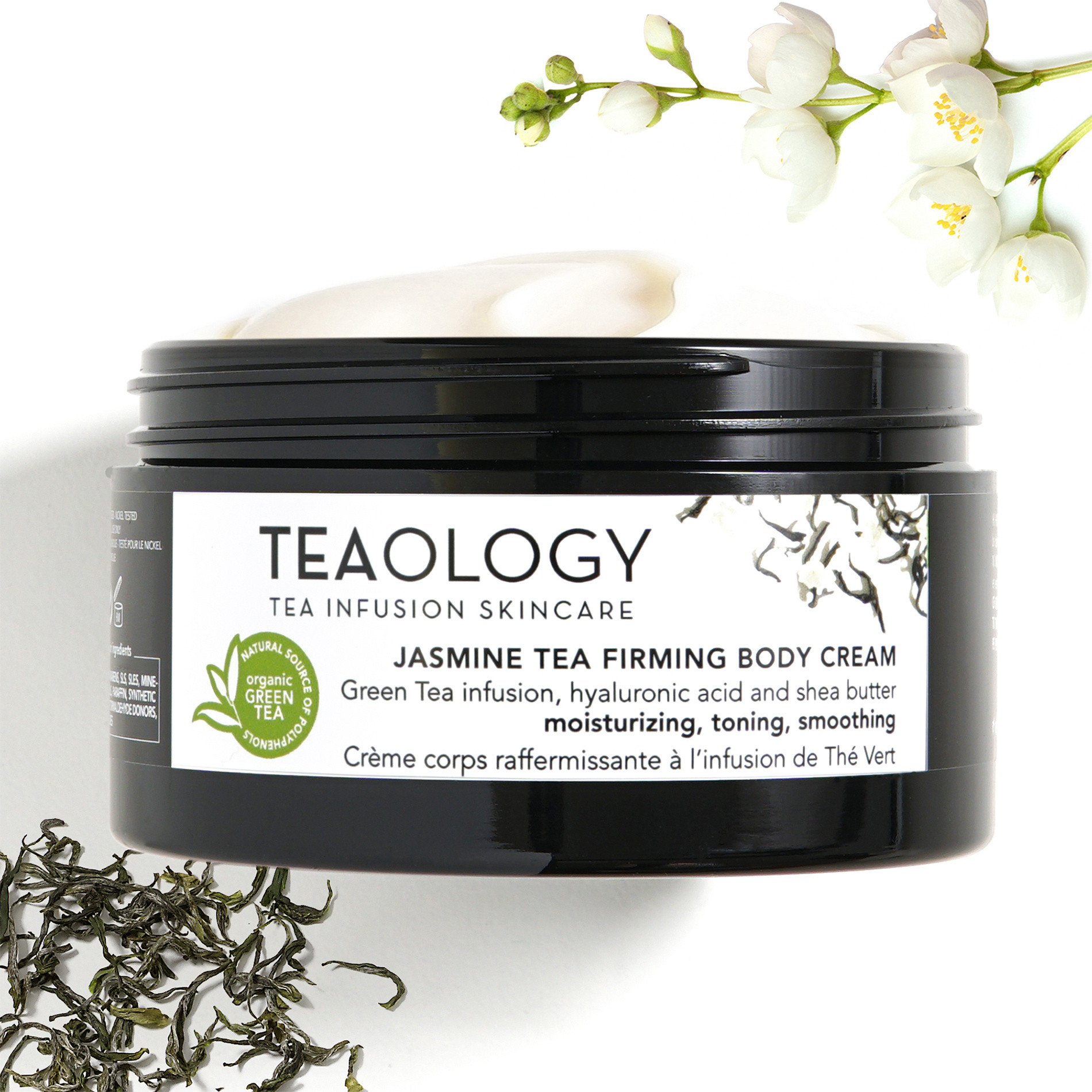 Jasmine Tea Body Cream Rassodante 300 ml, Bianco, large image number 3